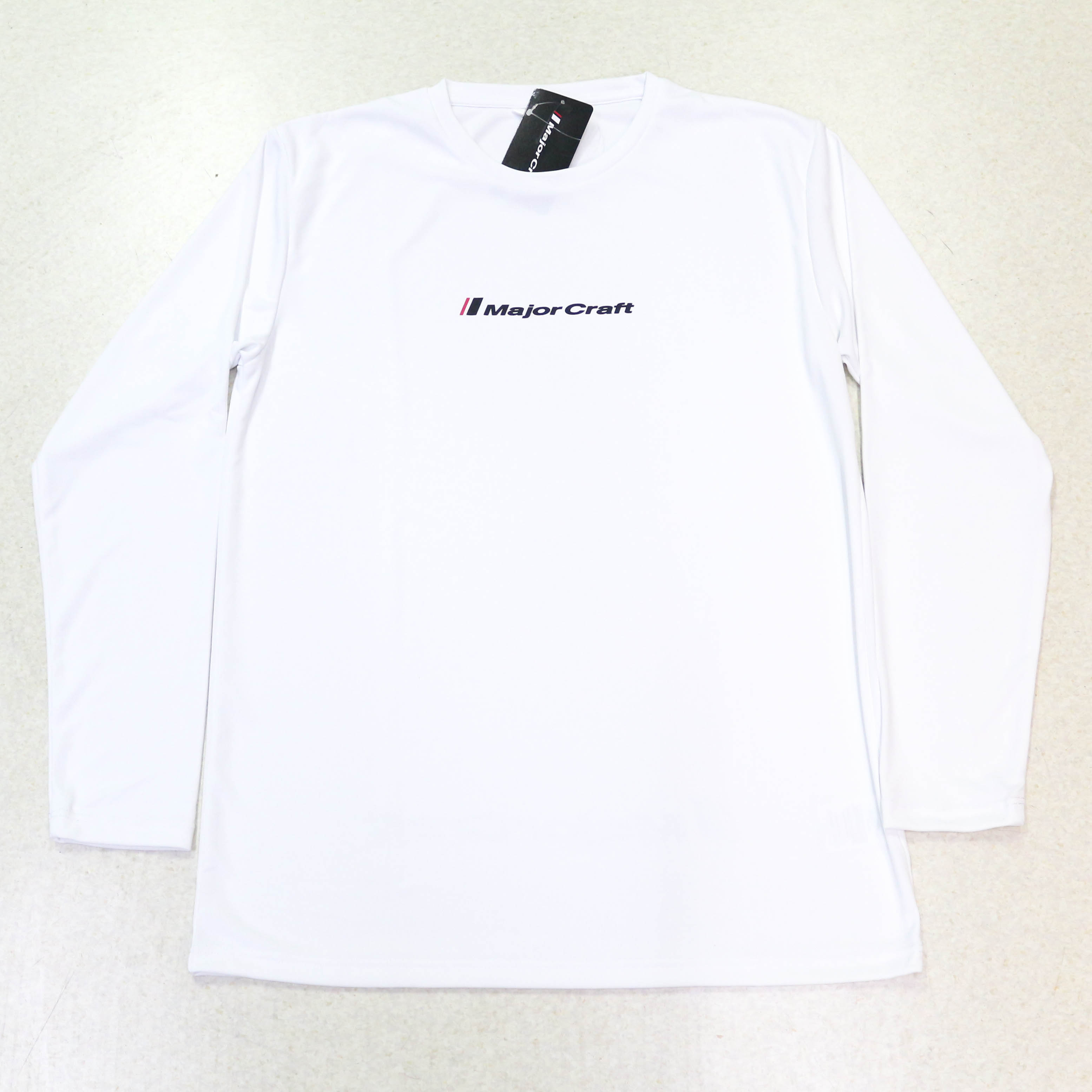 Major Craft T-Shirt Long Sleeve MCW-DLT-M/WH (3055)