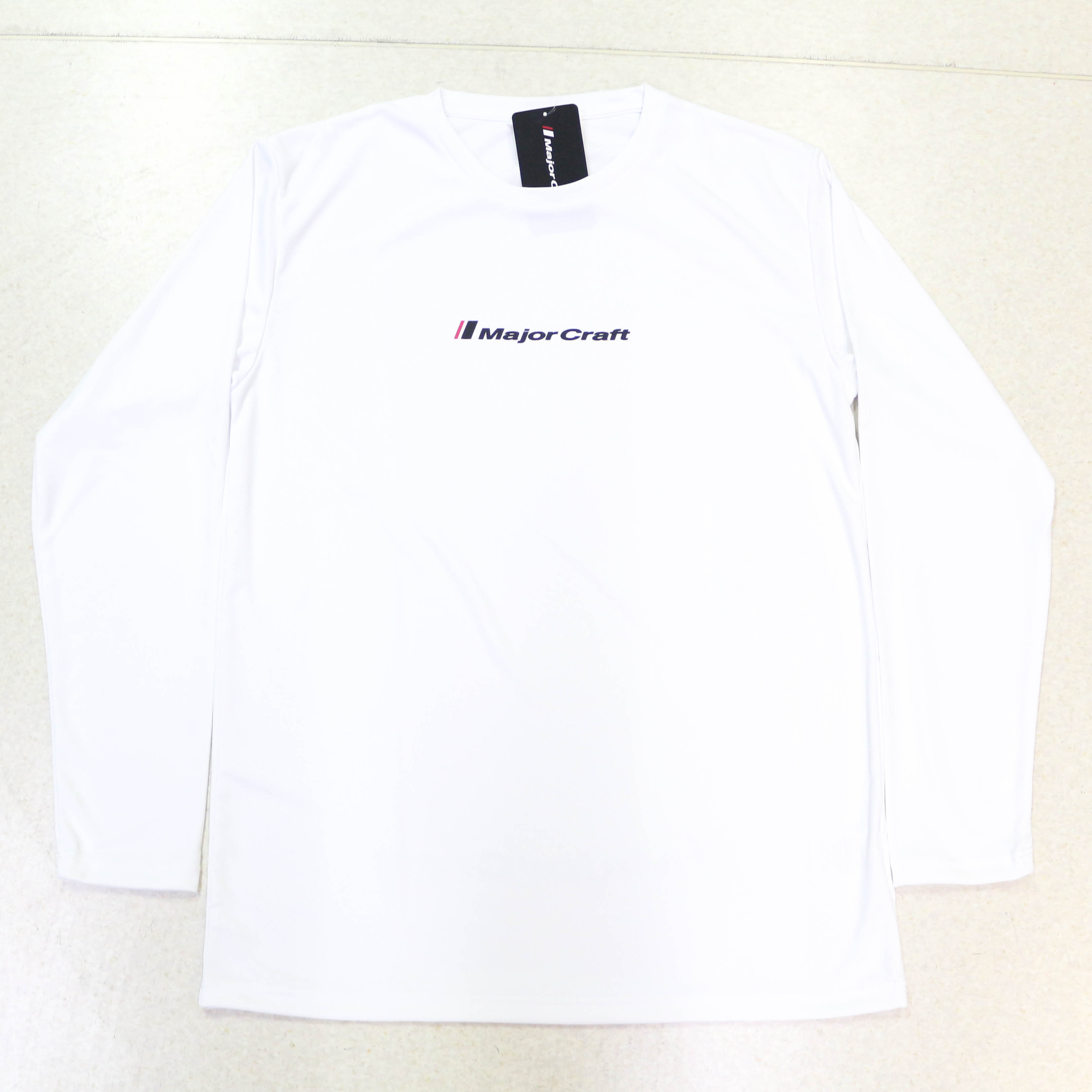 Major Craft T-Shirt Long Sleeve MCW-DLT-3L/WH (3178)