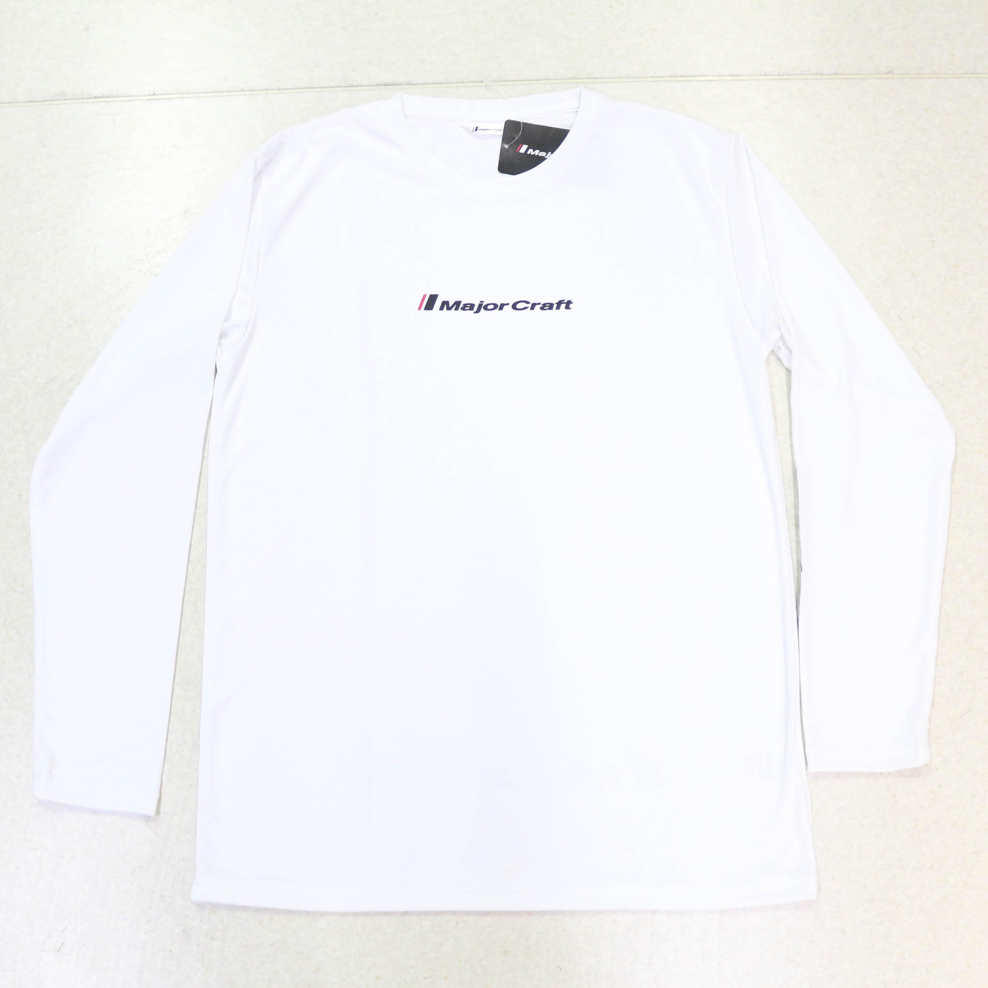 Major Craft T-Shirt Long Sleeve MCW-DLT-4L/WH (3215)