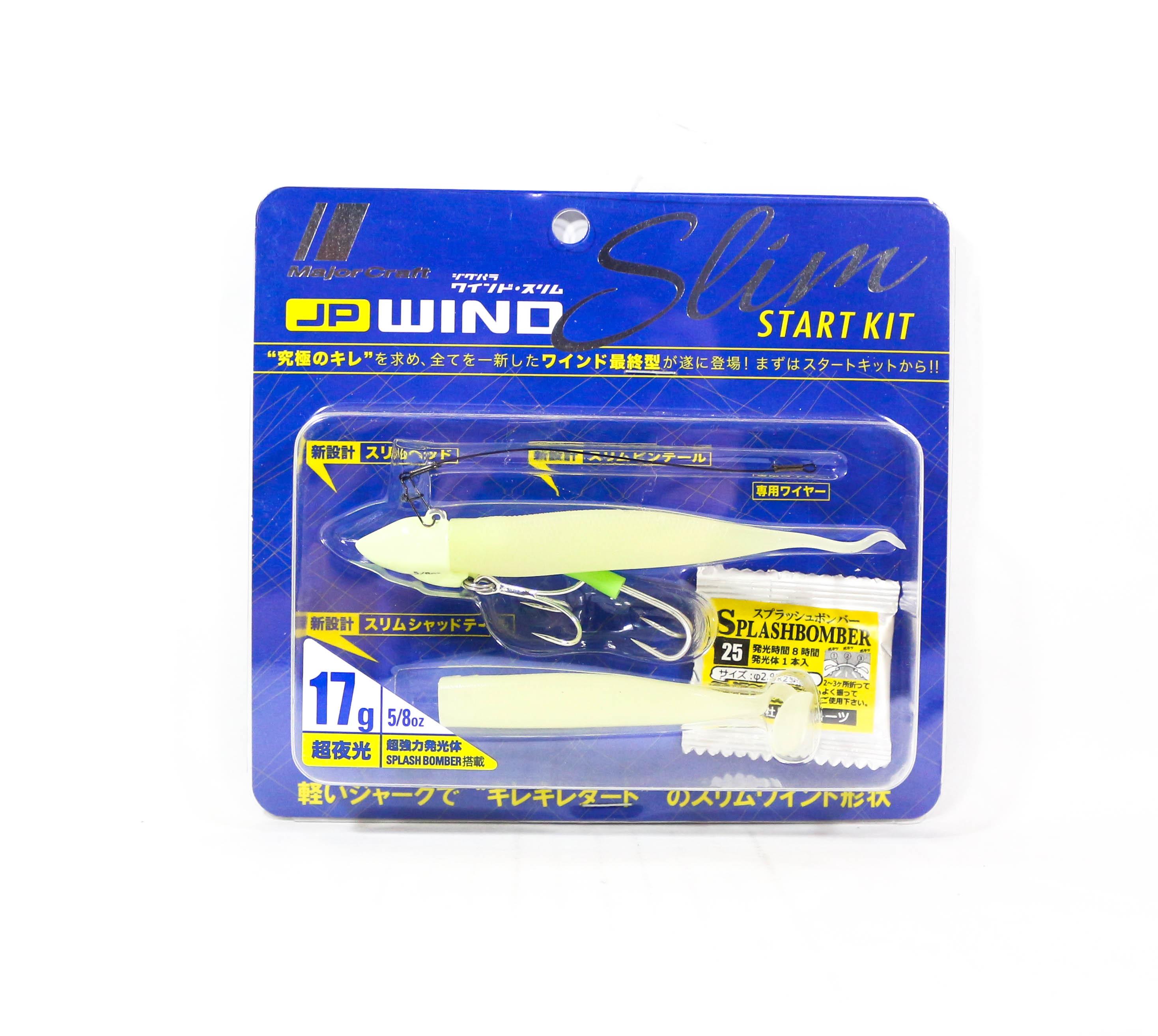 Major Craft Wind Slim Twin Set 17 grams JPWS-SET5/8/SGL (2333)