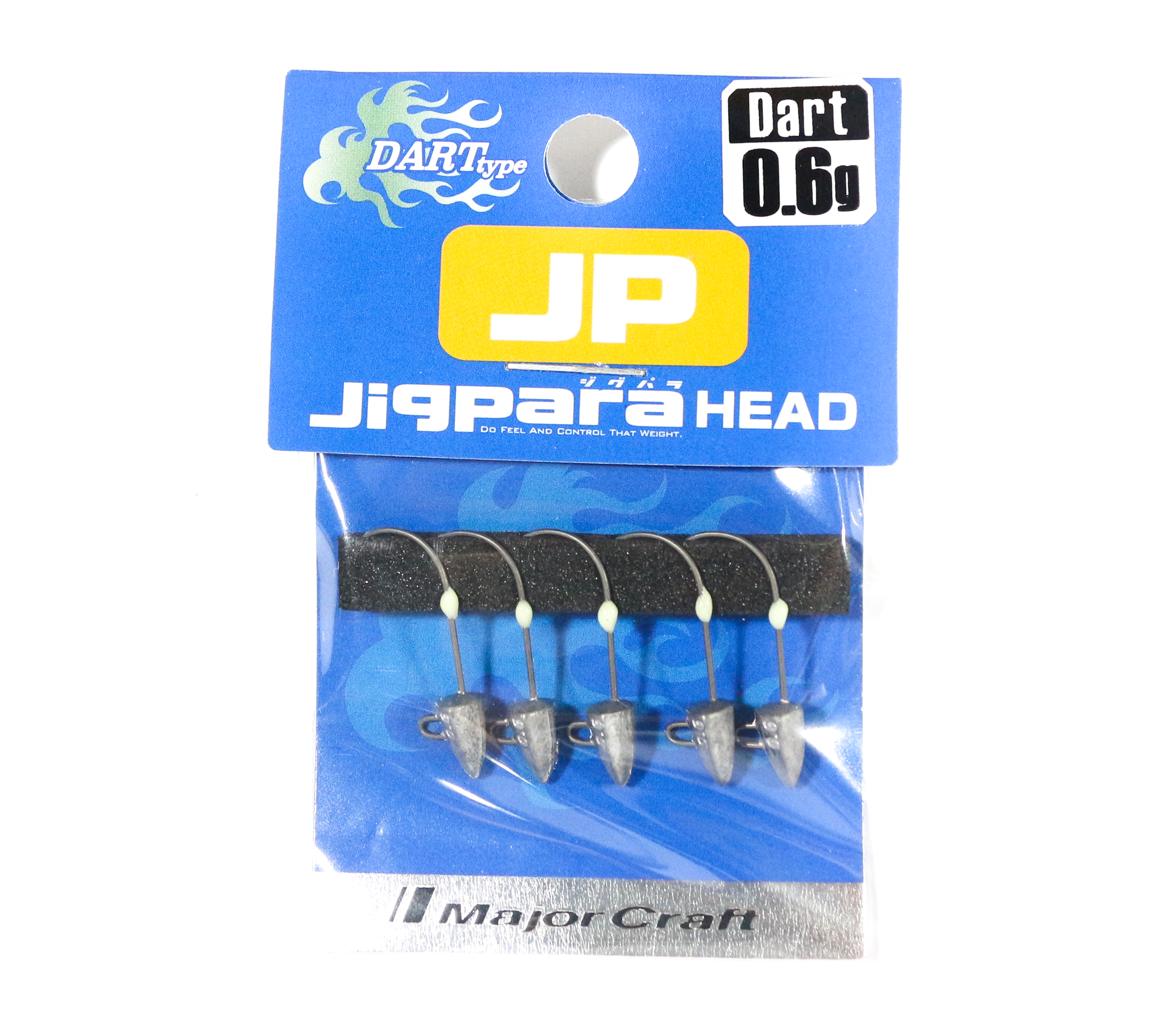 Major Craft Jig Head Dart JPHD-0.6 grams (4326)