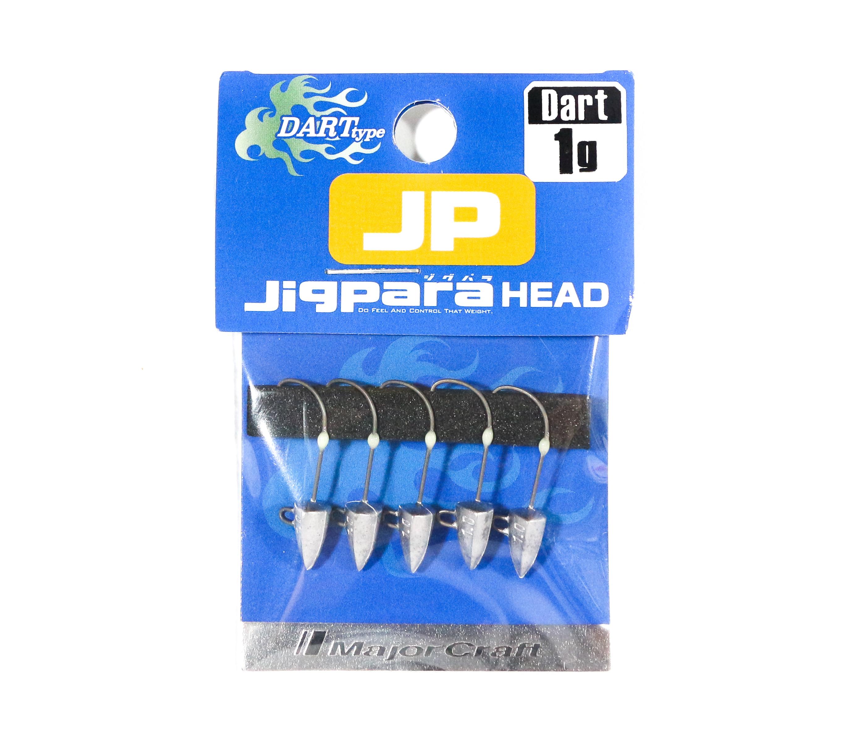 Major Craft Jig Head Dart JPHD-1.0 grams (4333)
