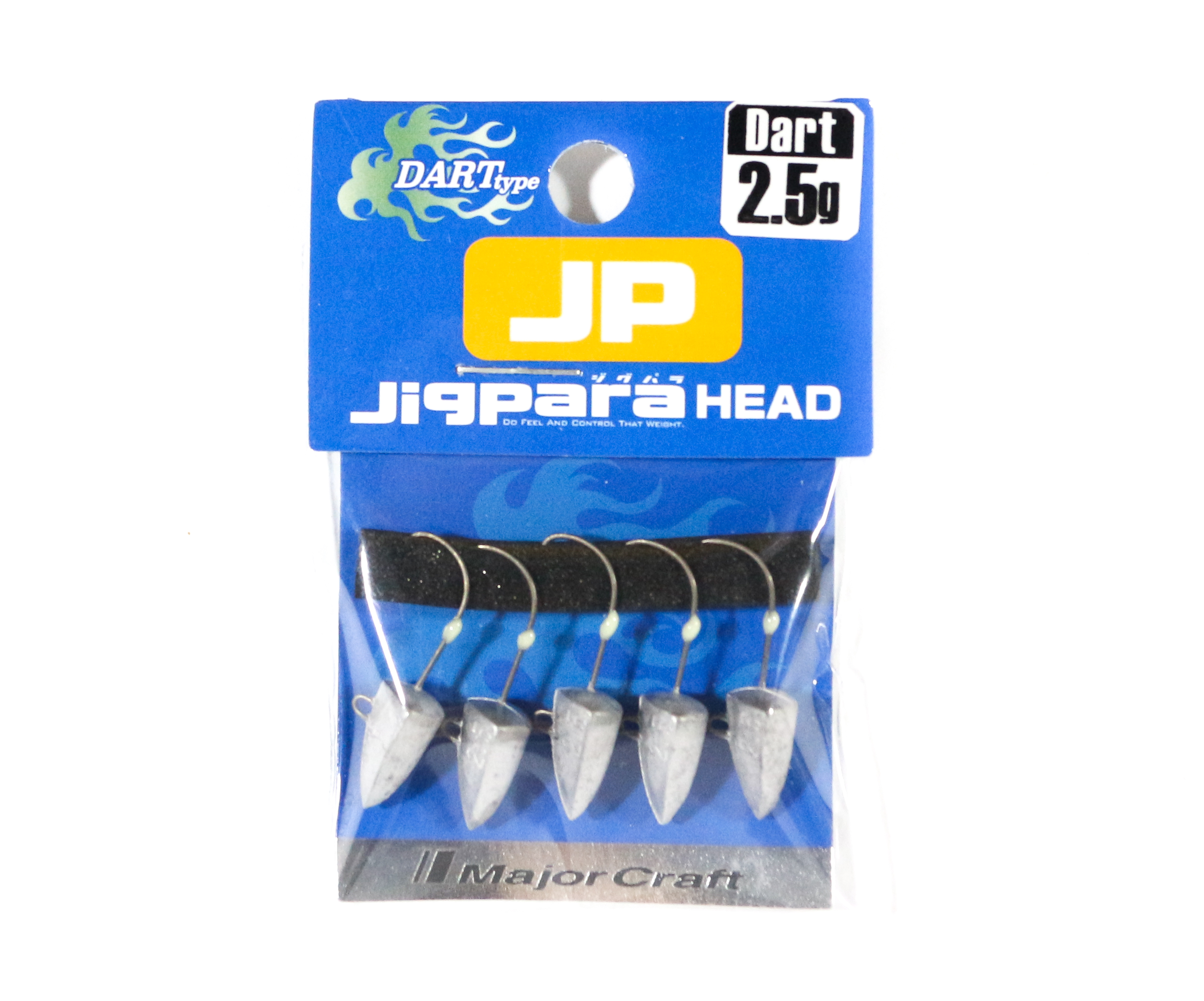Major Craft Jig Head Dart JPHD-2.5 grams (4371)