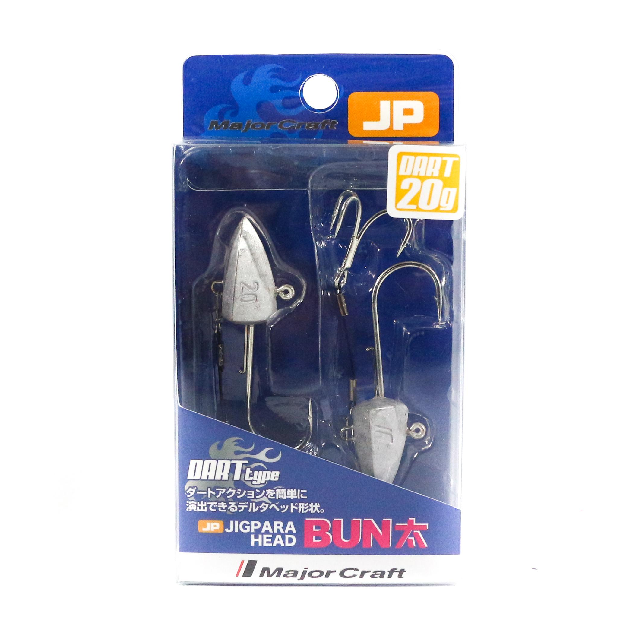 Major Craft Jig Head Dart JPBU-20 grams Size 1/0 (8614)