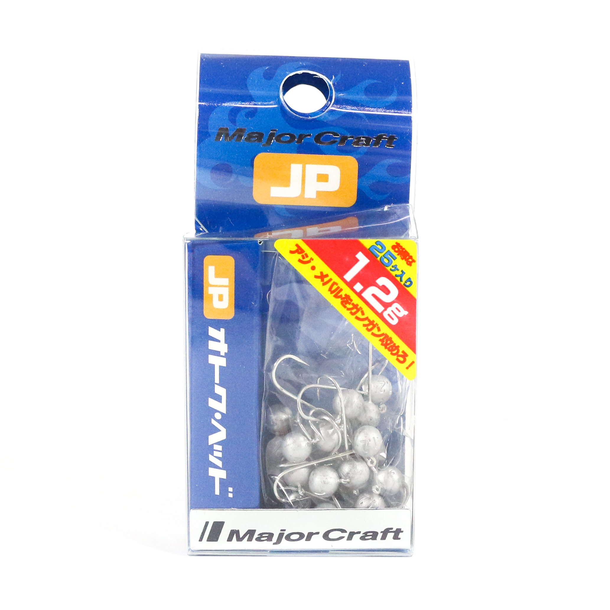 Major Craft Jig Head OTHD-1.2 grams Size 8 25 piece pack (6511)