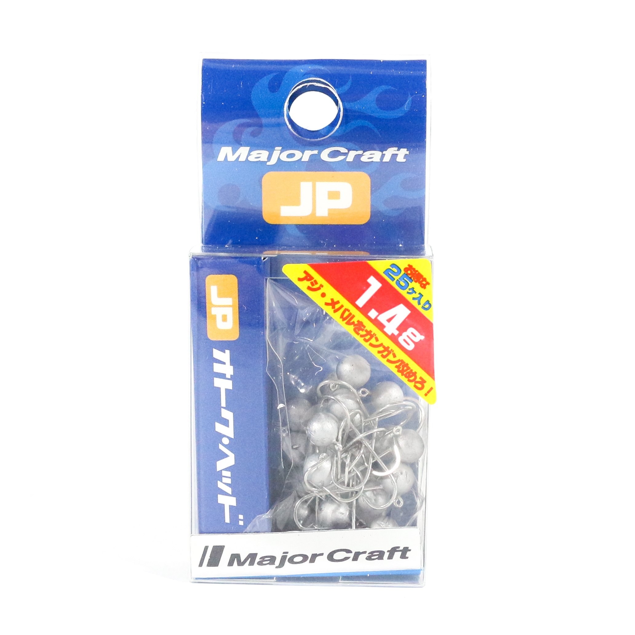 Major Craft Jig Head OTHD-1.4 grams Size 8 25 piece pack (6528)