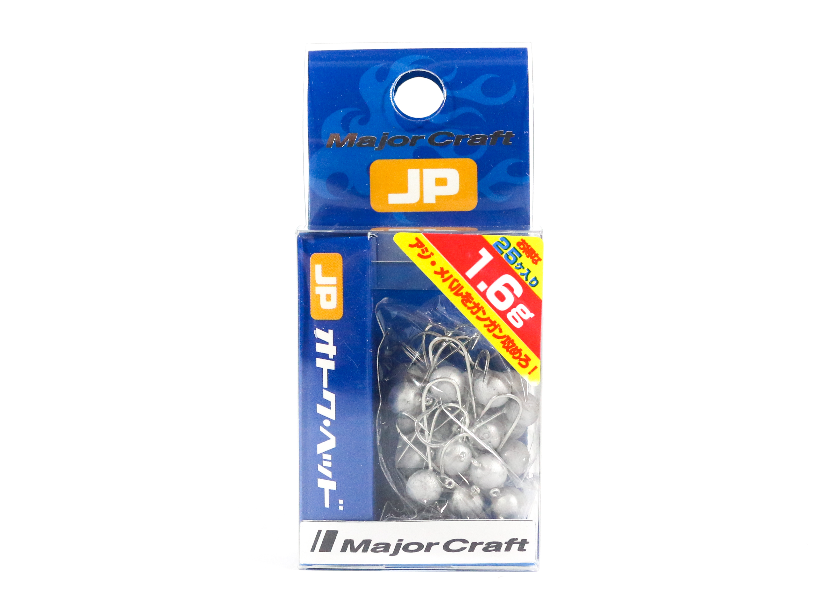 Major Craft Jig Head OTHD-1.6 grams Size 8 25 piece pack (6535)