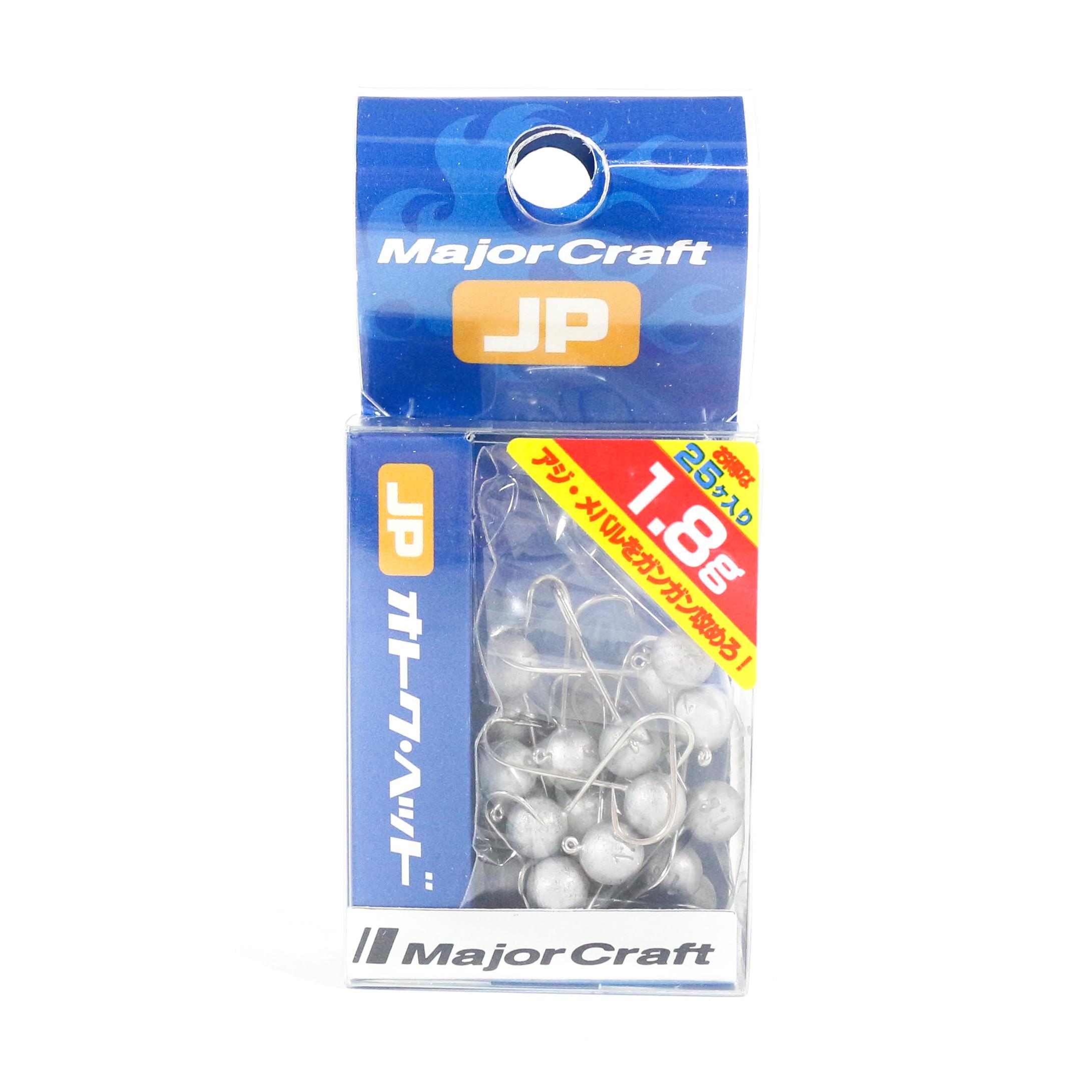 Major Craft Jig Head OTHD-1.8 grams Size 8 25 piece pack (6542)