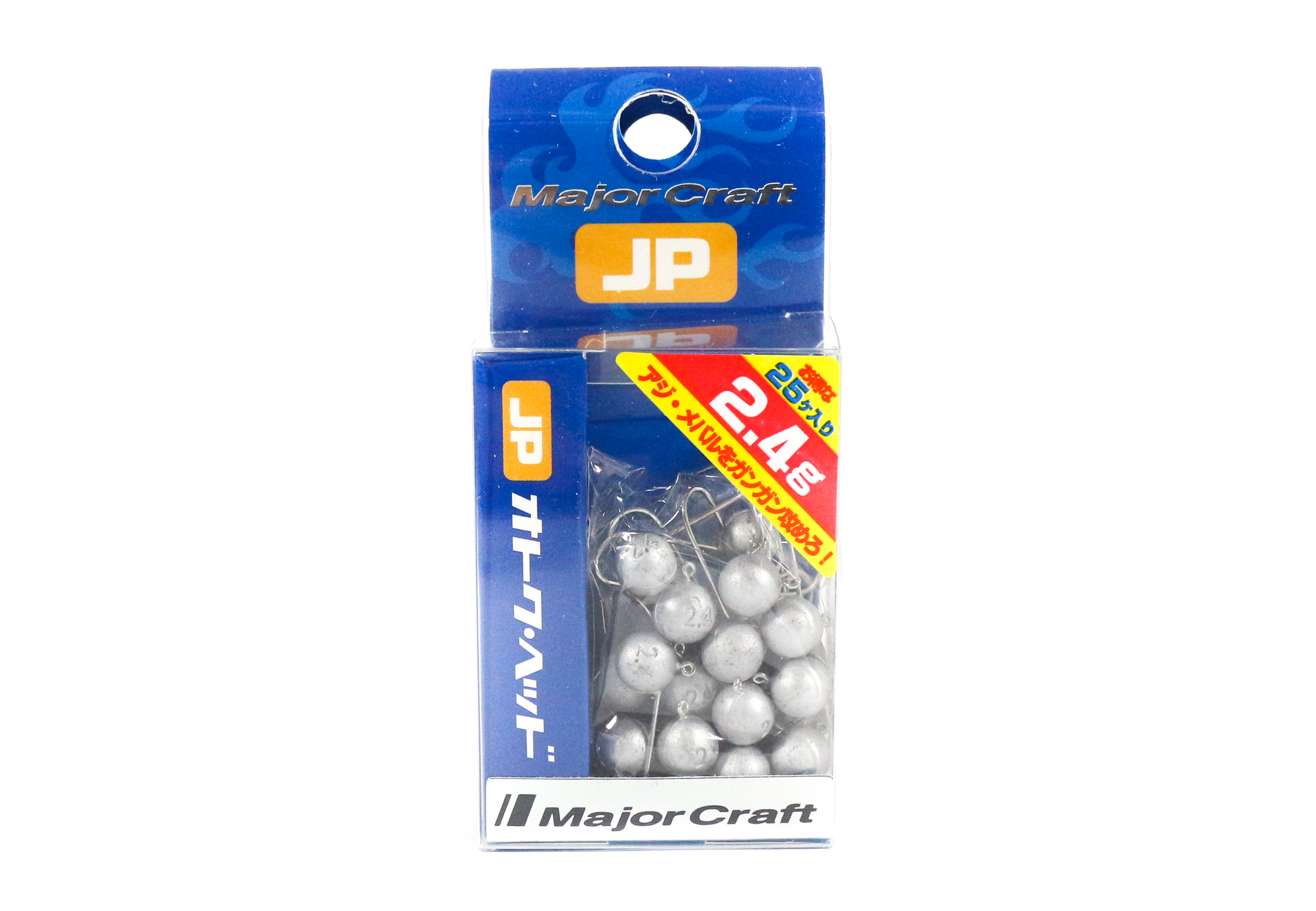 Major Craft Jig Head OTHD-2.4 grams Size 8 25 piece pack (6573)