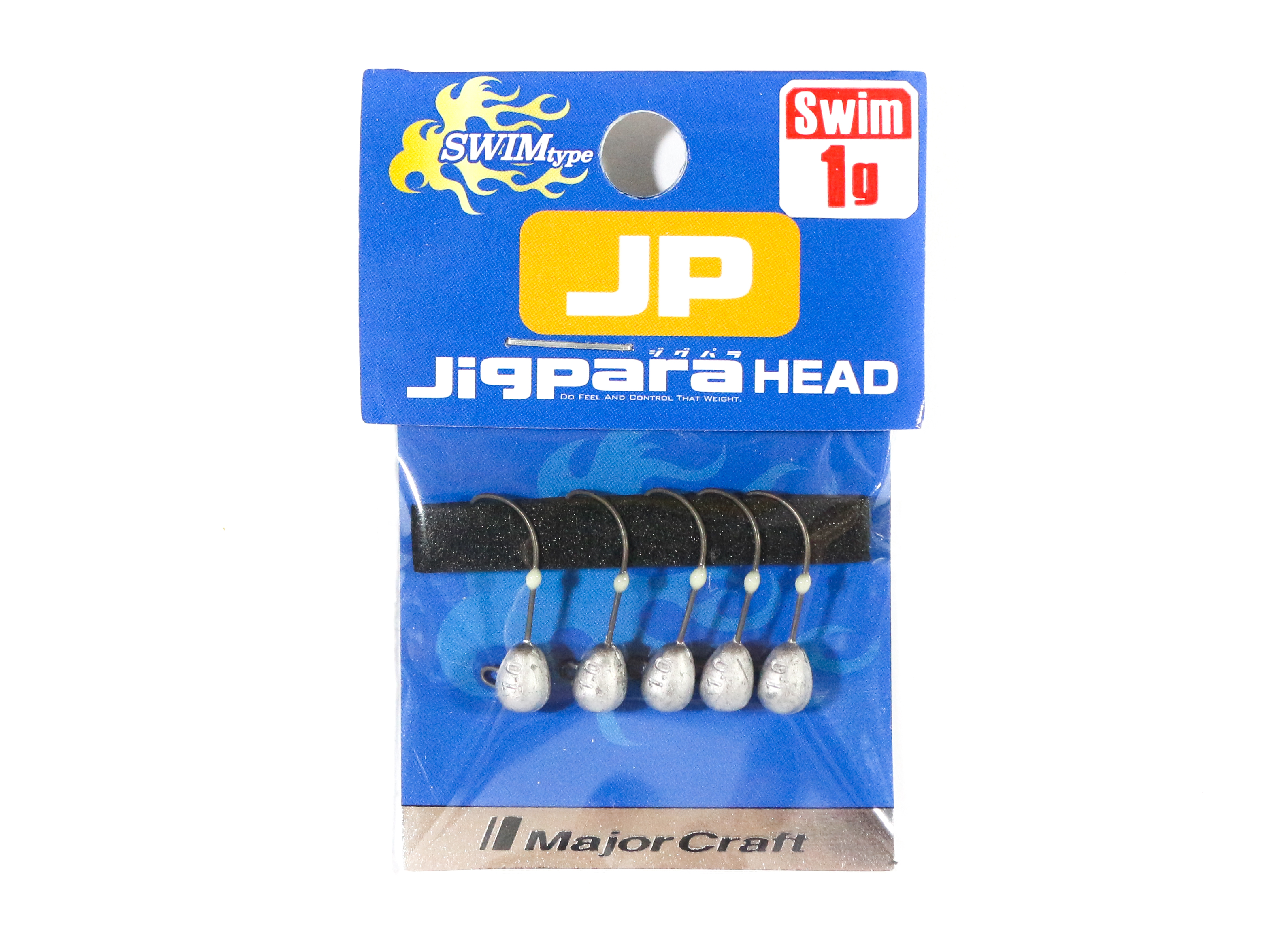 Major Craft Jig Head Swim JPHD-1.0 grams (4401)