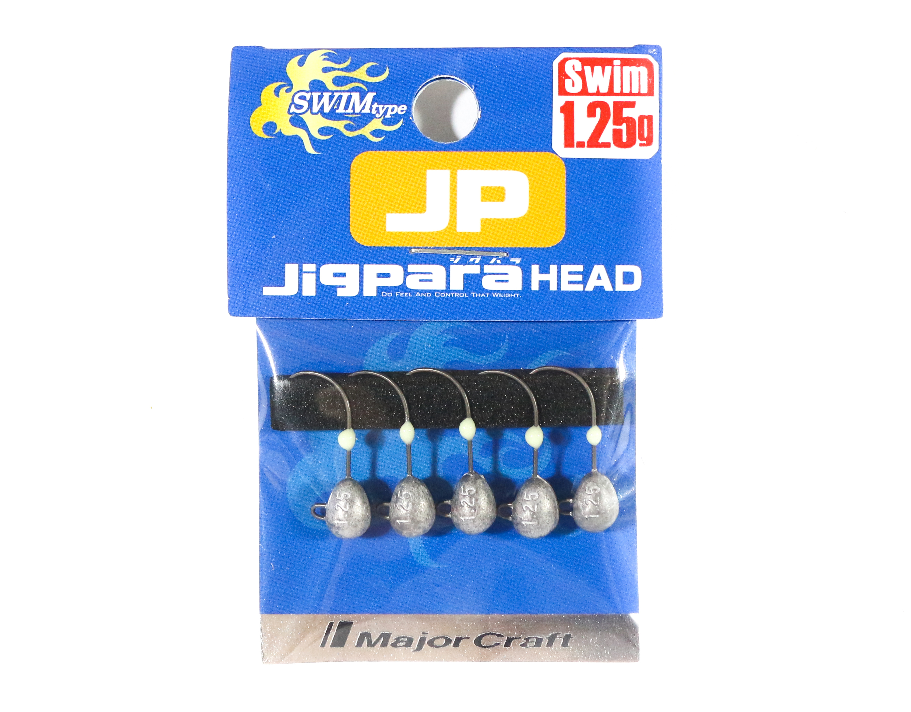 Major Craft Jig Head Swim JPHD-1.25 grams (4418)