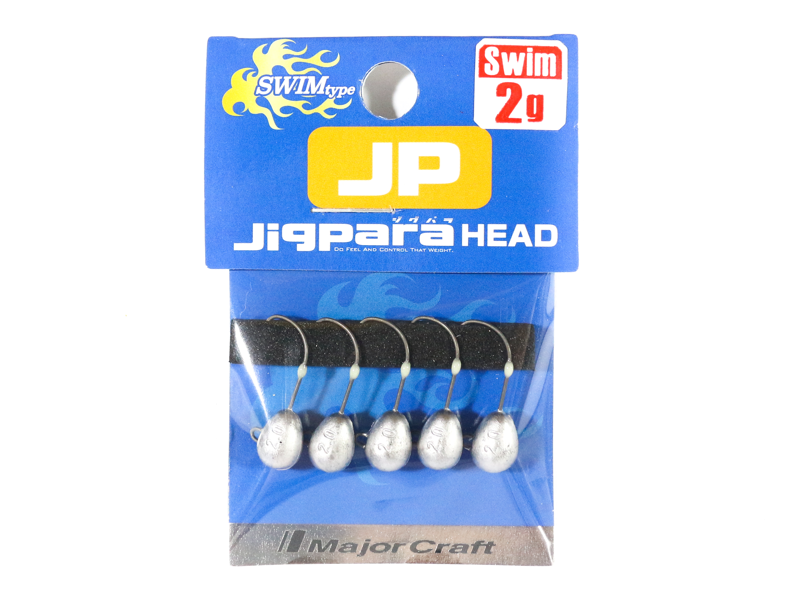 Major Craft Jig Head Swim JPHD-2.0 grams (4432)