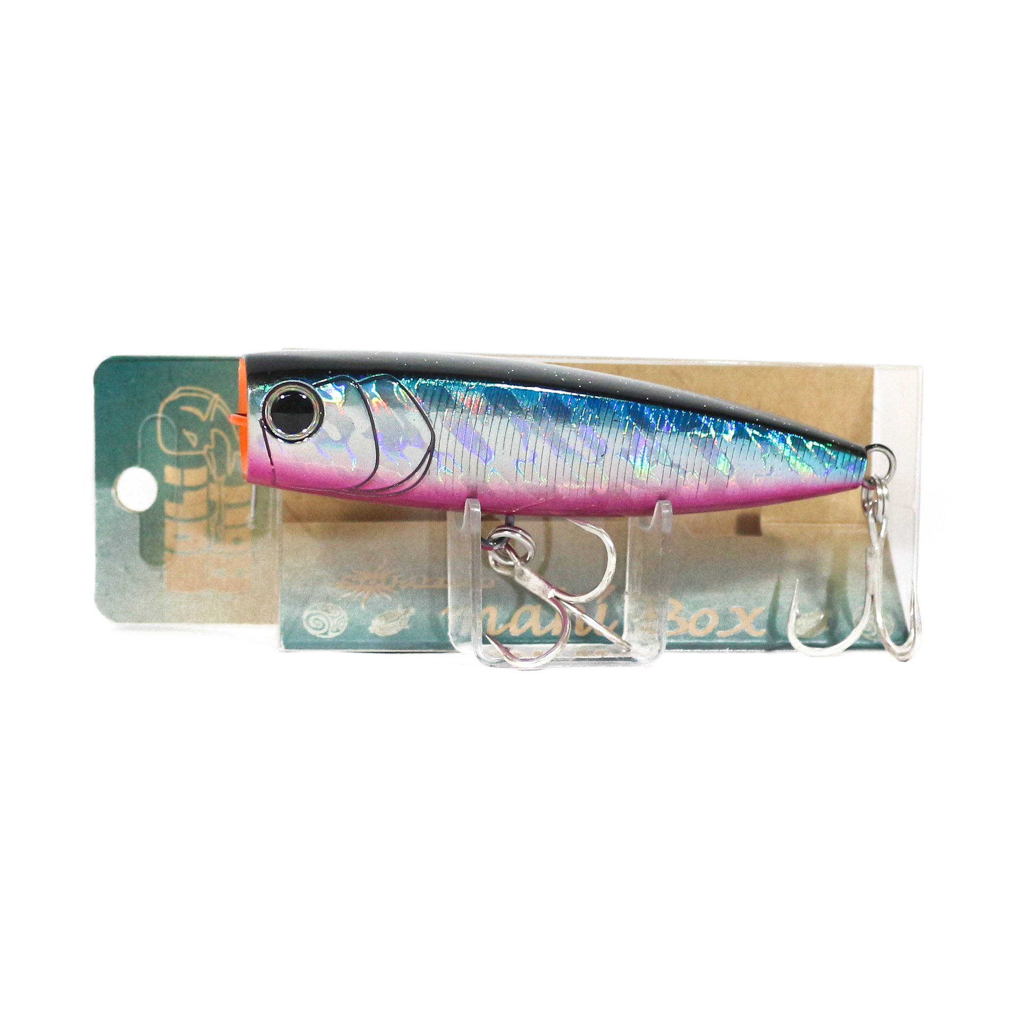 Mangrove Studio Mahi Box Popper 100 mm 28 grams Floating Lure MH-1P (1485)