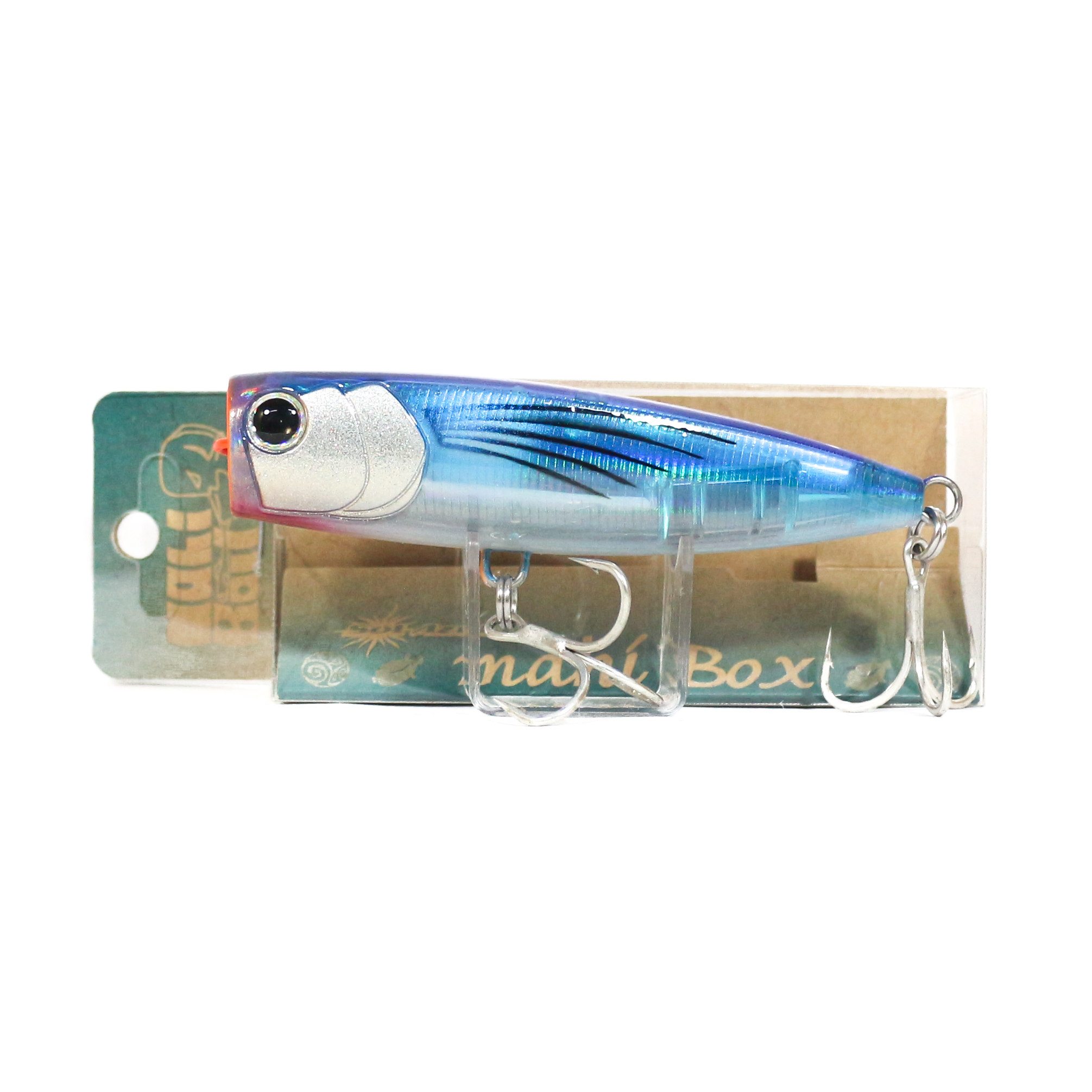 Mangrove Studio Mahi Box Popper 100 mm 28 grams Floating Lure IM-5 (1487)
