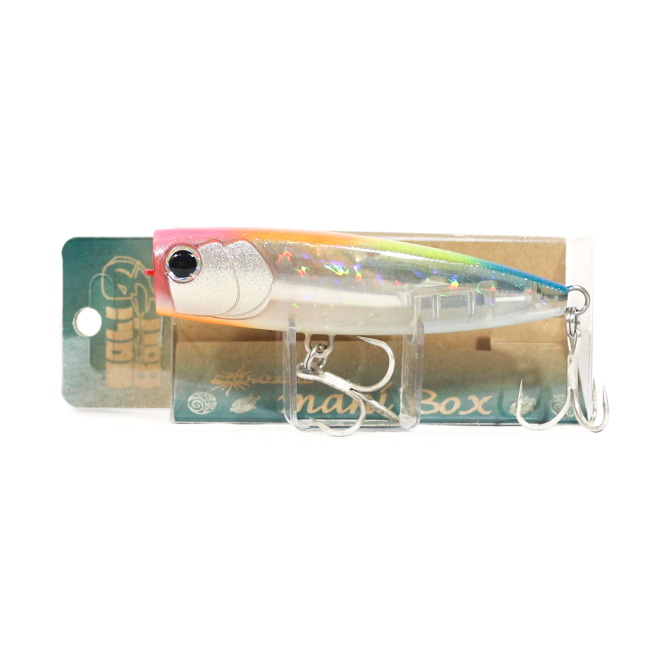 Mangrove Studio Mahi Box Popper 100 mm 28 grams Floating Lure IM-32G (1488)