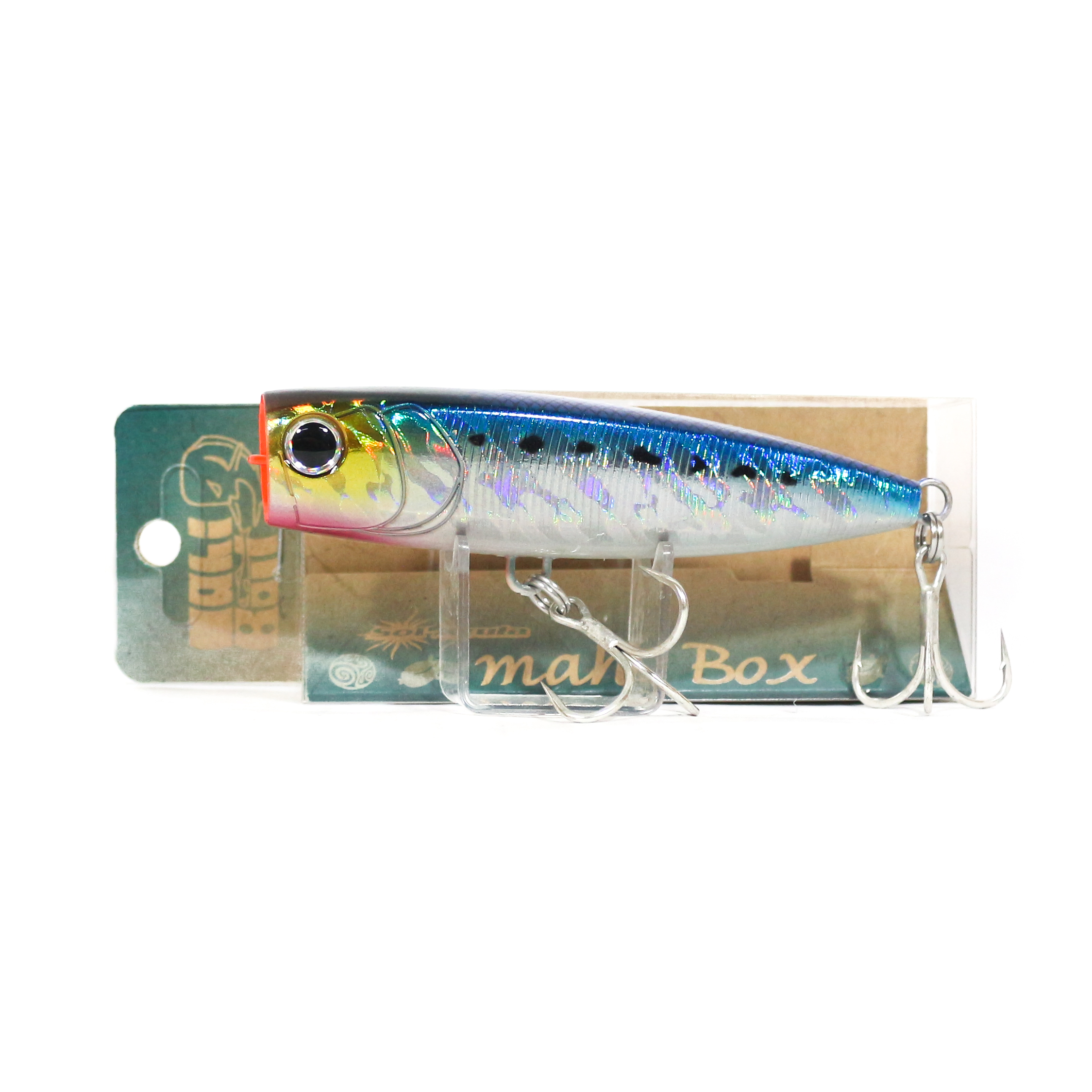 Mangrove Studio Mahi Box Popper 100 mm 28 grams Floating Lure MH-2 (1490)