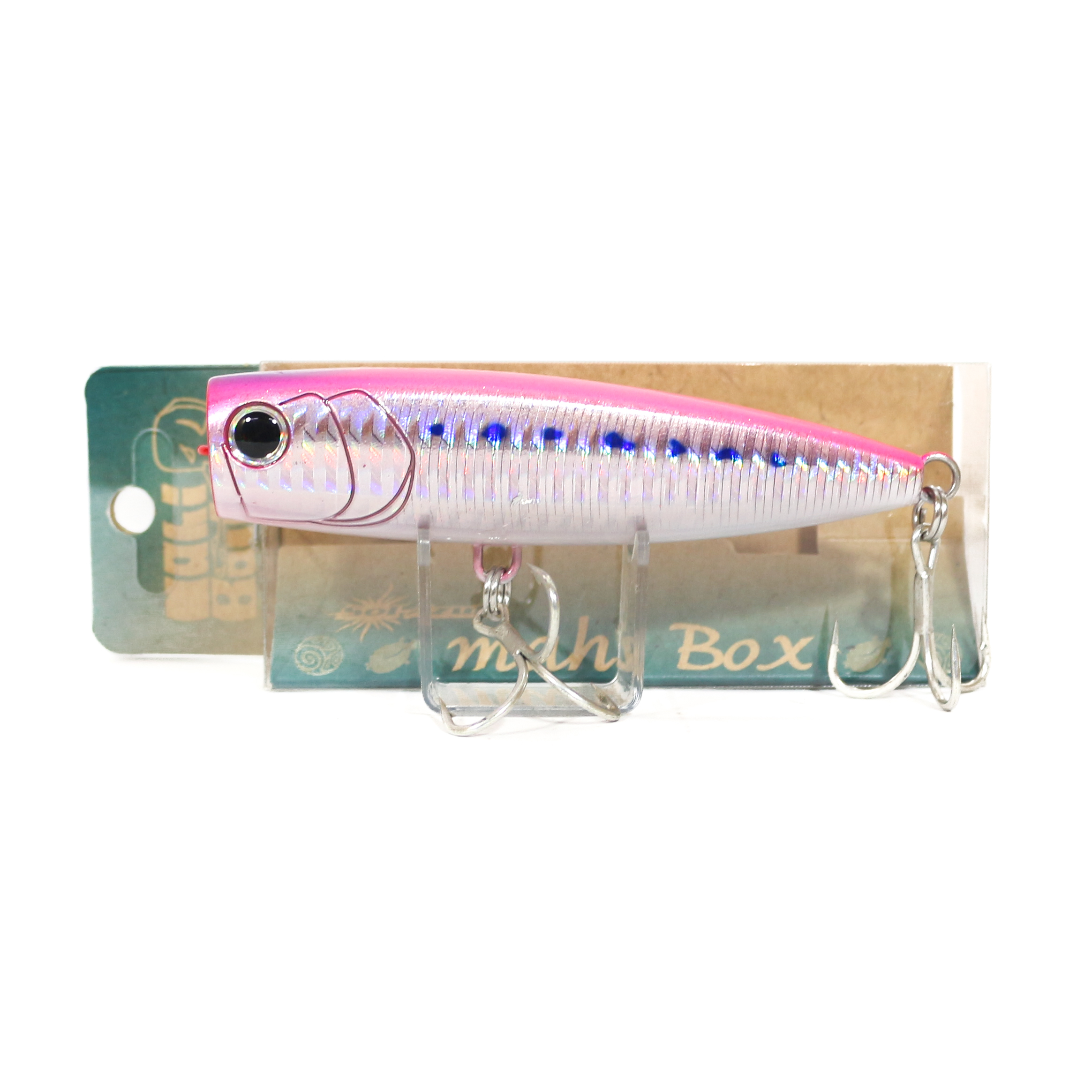 Mangrove Studio Mahi Box Popper 100 mm 28 grams Floating Lure BH-7M (1492)
