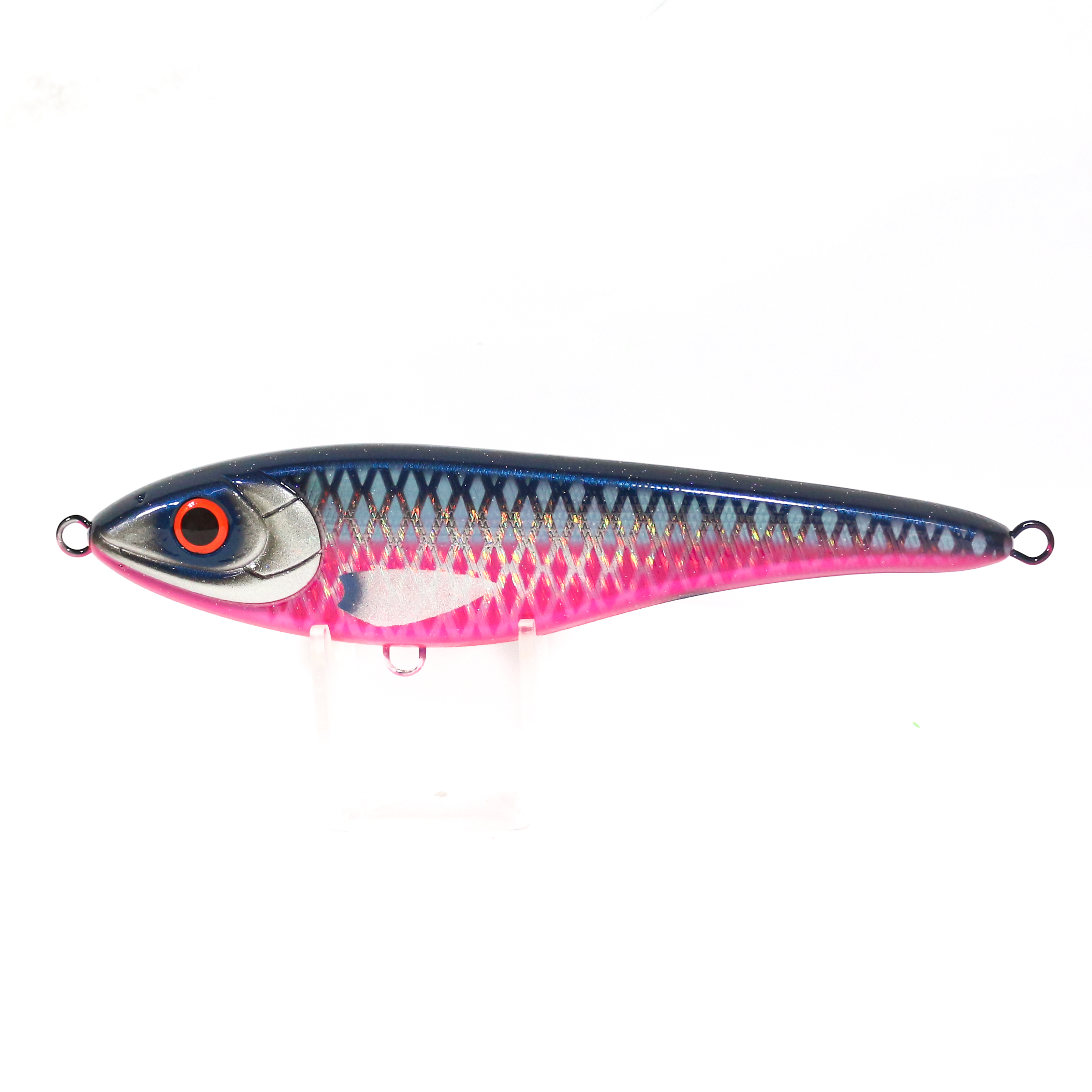 Mangrove Studio Big Bandit 195 mm 78 grams Floating Lure Black Pink (1495)