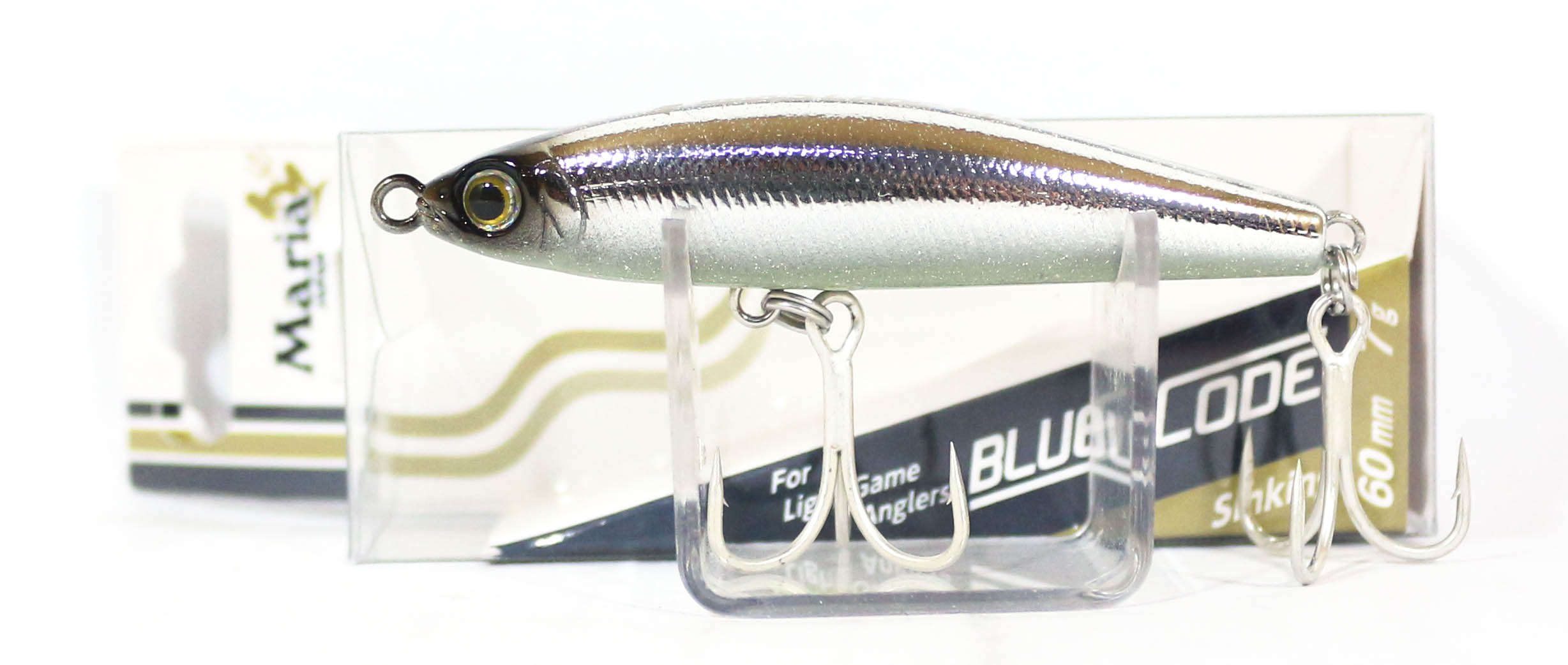 Maria Blues Code Pencil Sinking Lure Type C 60 LO7H (3903)