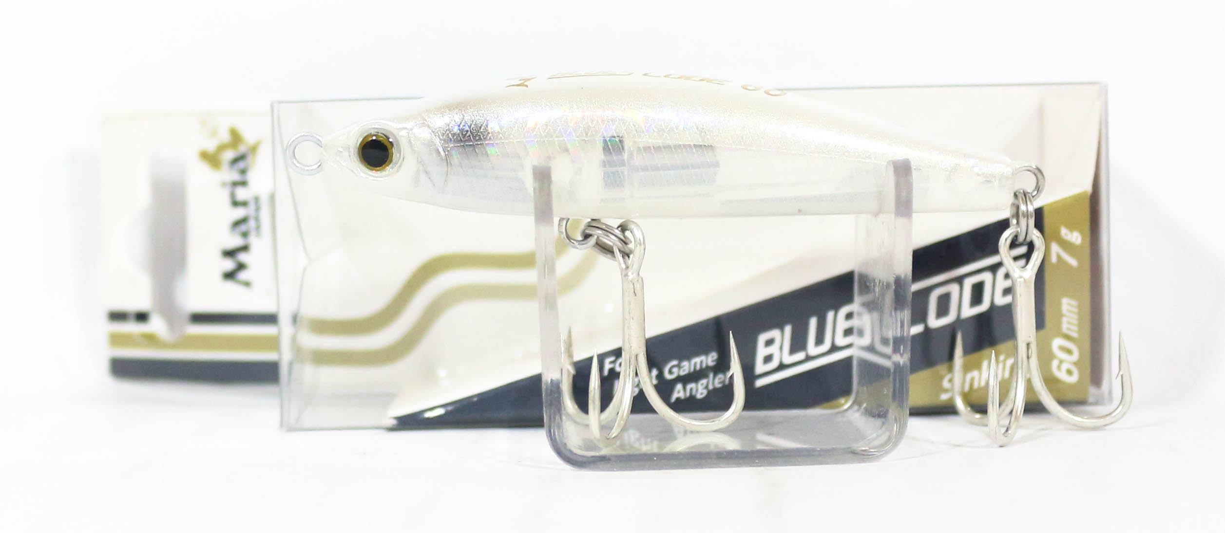 Maria Blues Code Pencil Sinking Lure Type C 60 L15P (3934)