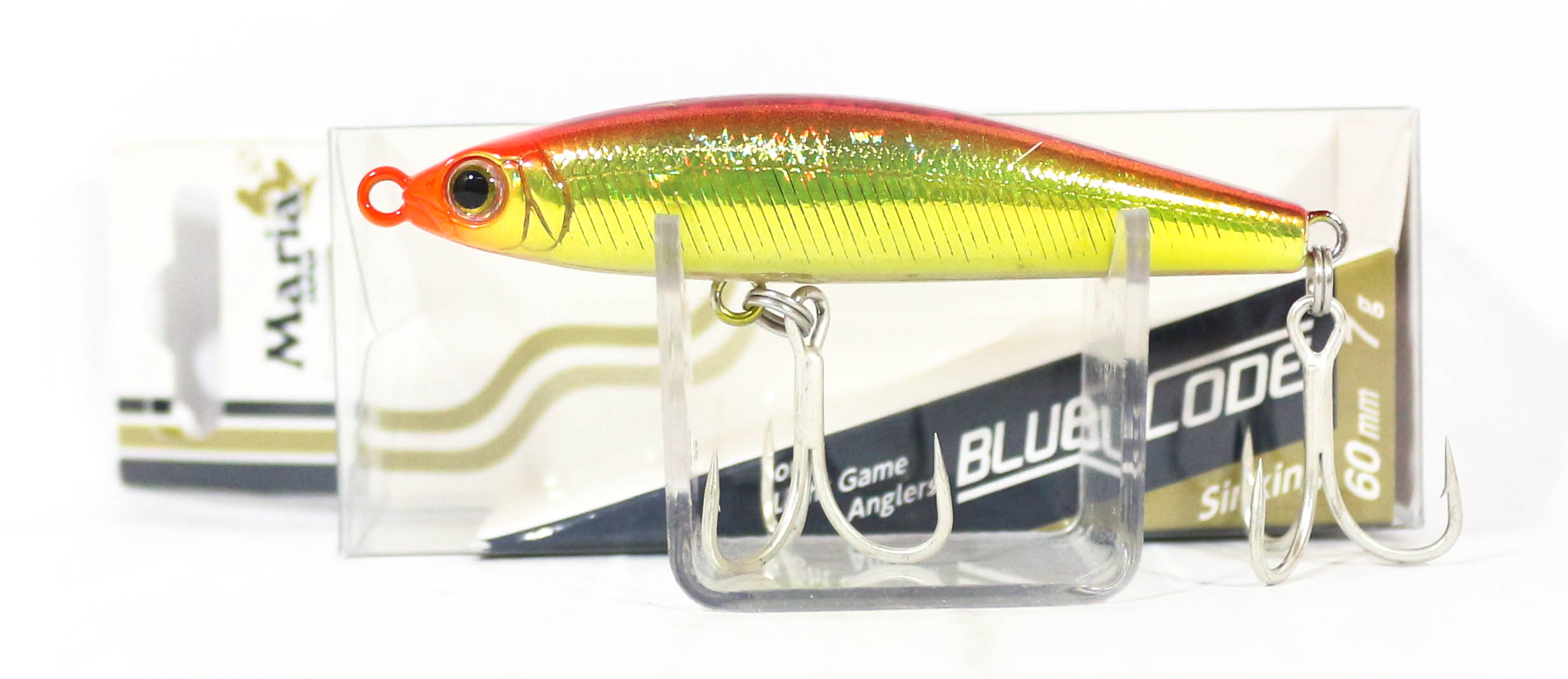 Maria Blues Code Pencil Sinking Lure Type C 60 L17H (3958)