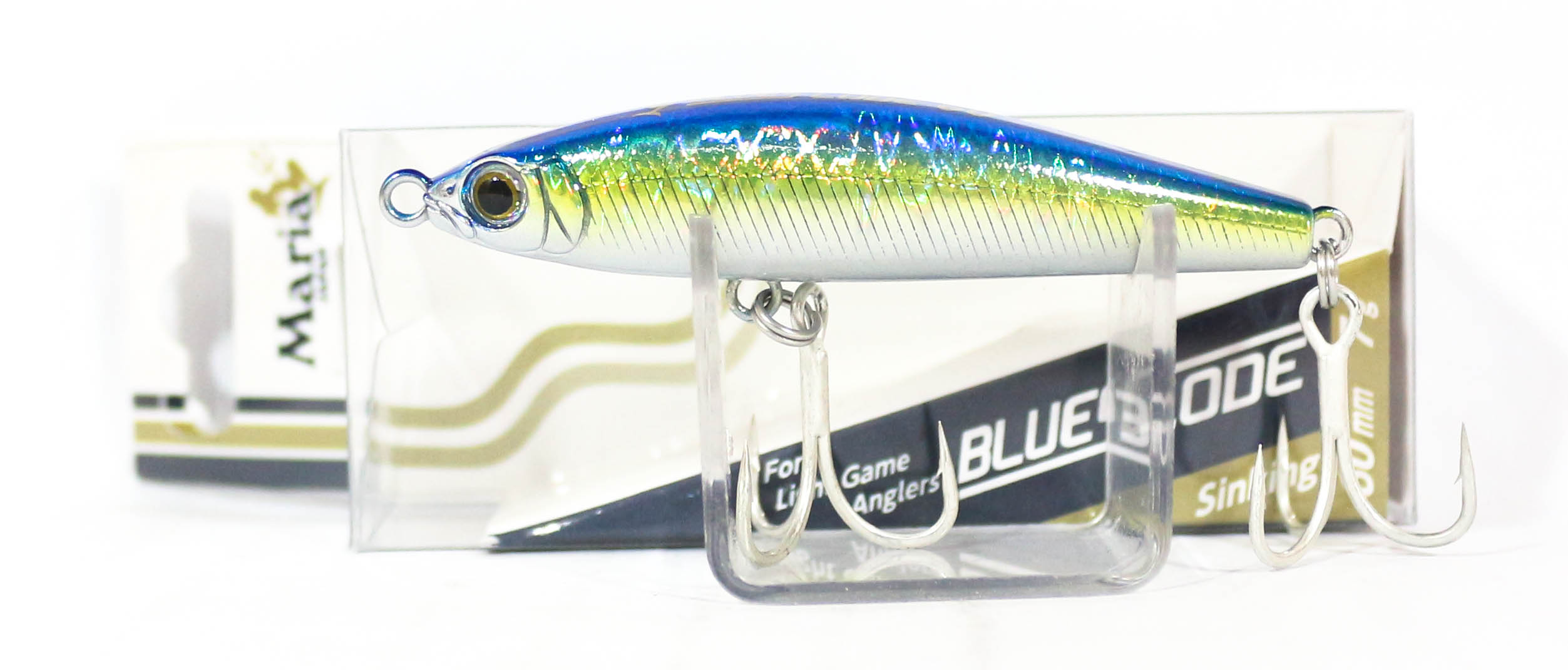Maria Blues Code Pencil Sinking Lure Type C 60 L18H (3965)