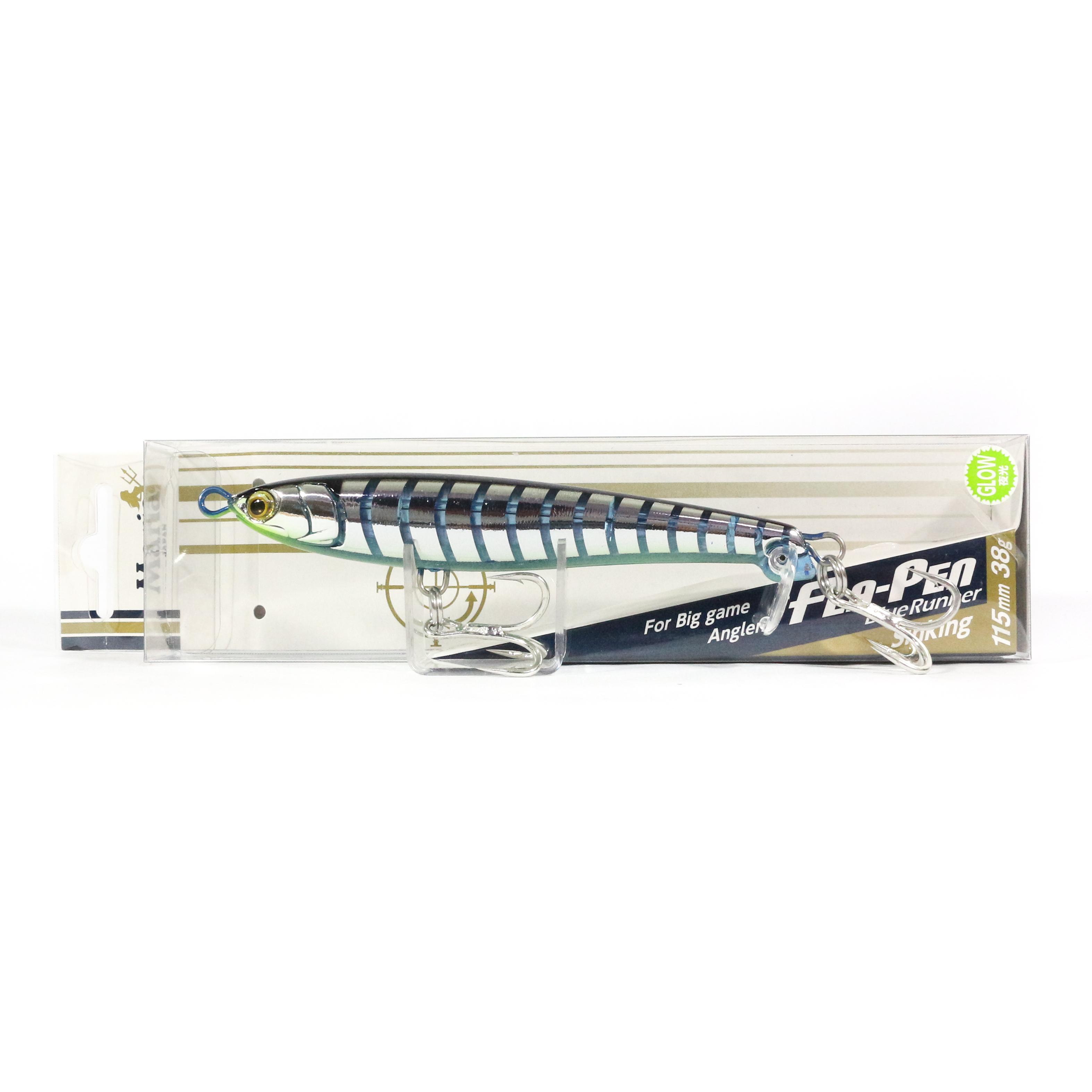 Maria Fla Pen S115 Fluttering Pencil Sinking Lure B07D (2100)