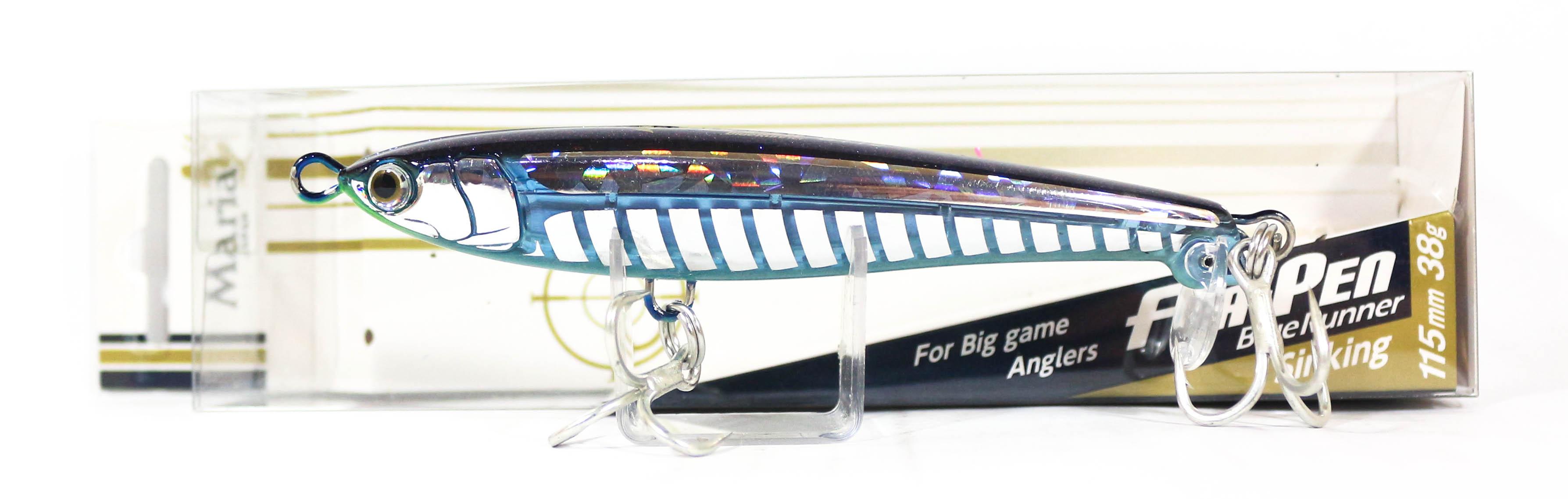 Maria Fla Pen S115 Fluttering Pencil Sinking Lure B24D (2623)