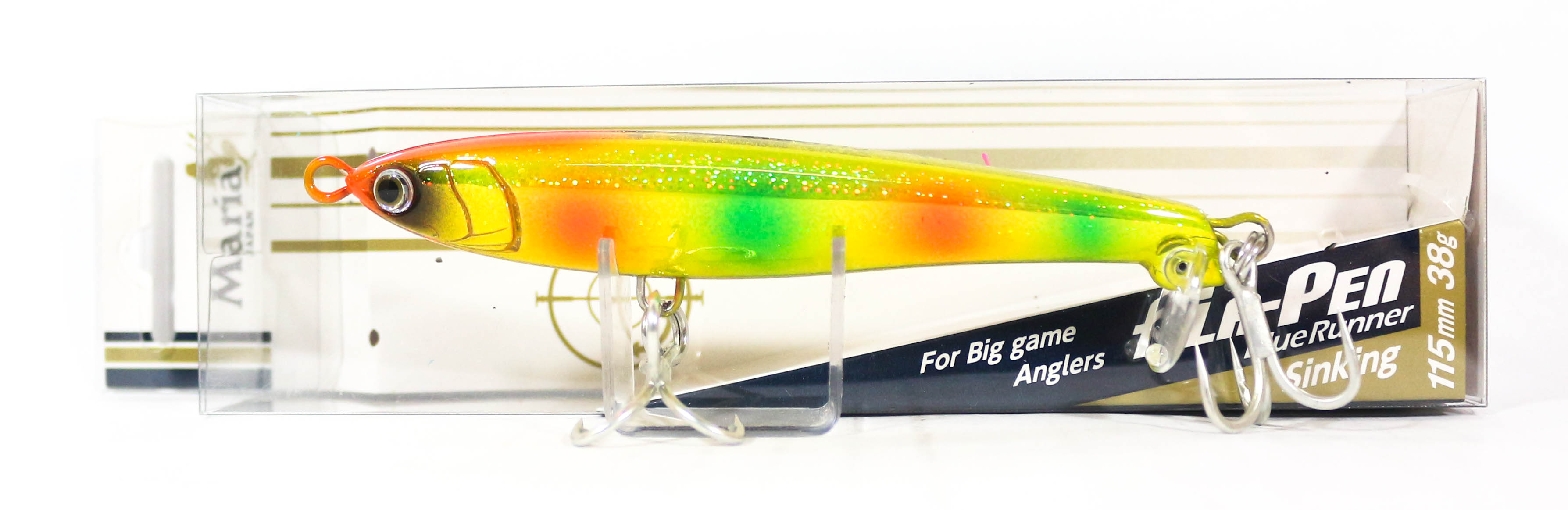 Maria Fla Pen S115 Fluttering Pencil Sinking Lure B3OH (2630)