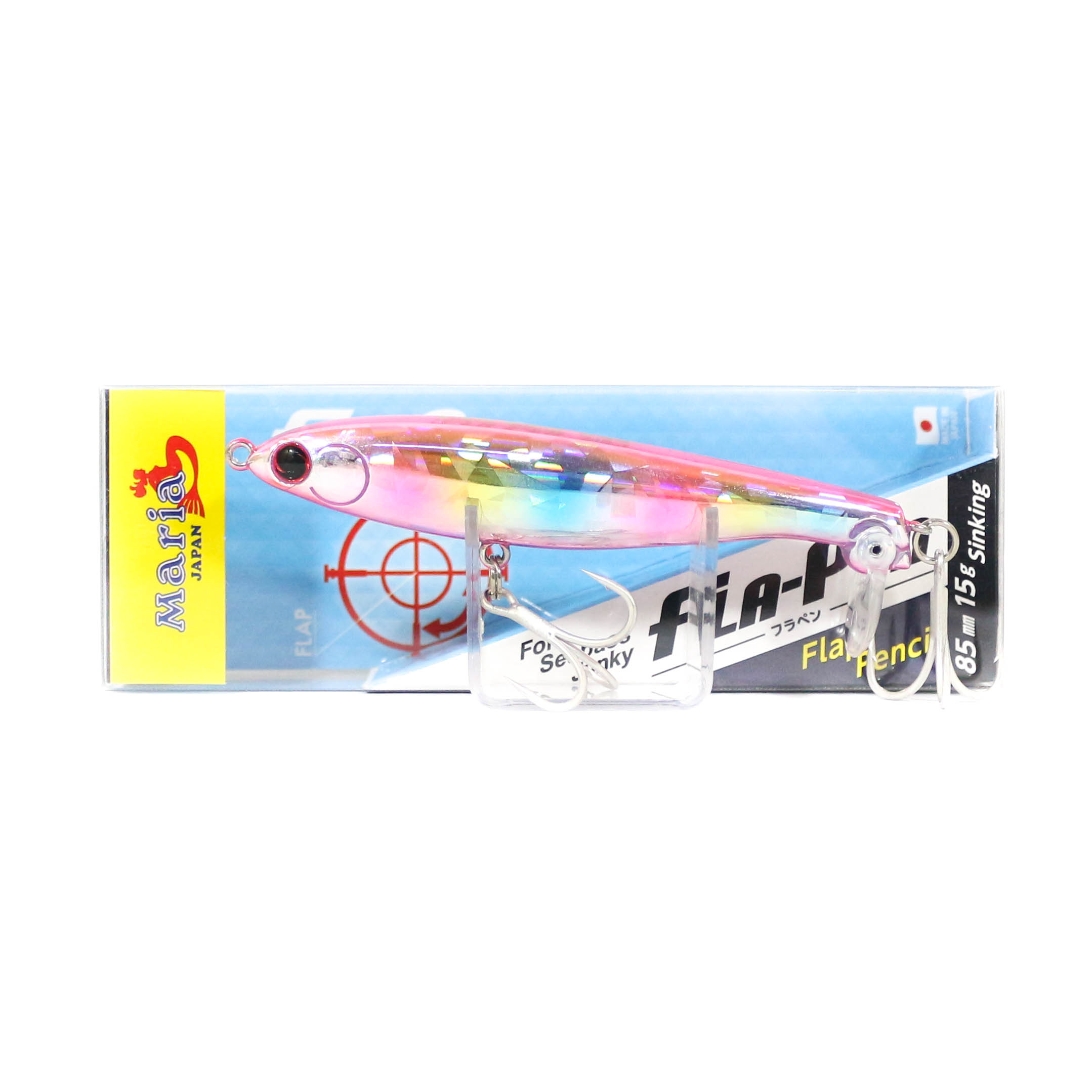 Maria Fla Pen S85 Fluttering Pencil Sinking Lure 10H (1648)
