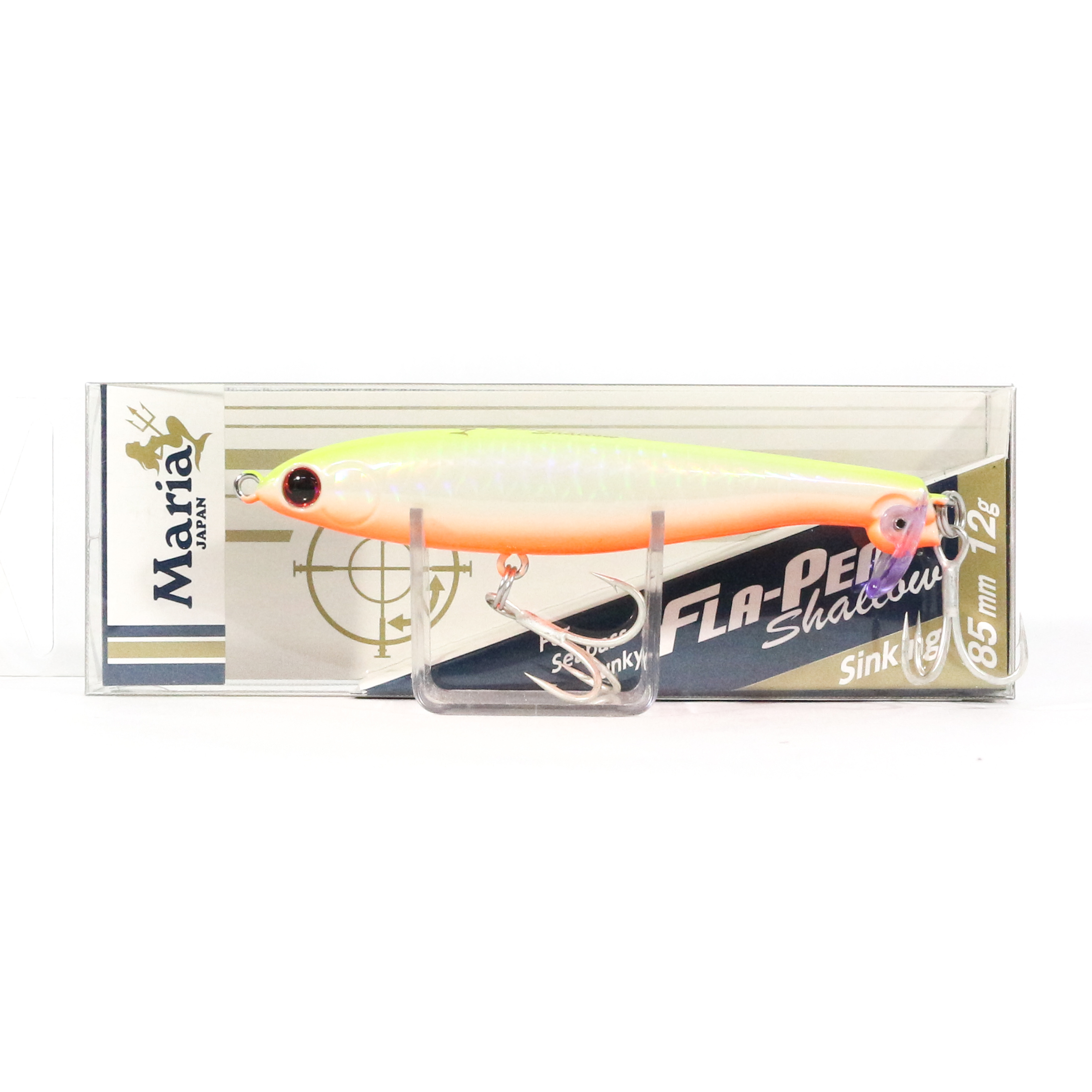 Maria Fla Pen S85 Shallow Fluttering Pencil Sinking Lure 05P (0671)