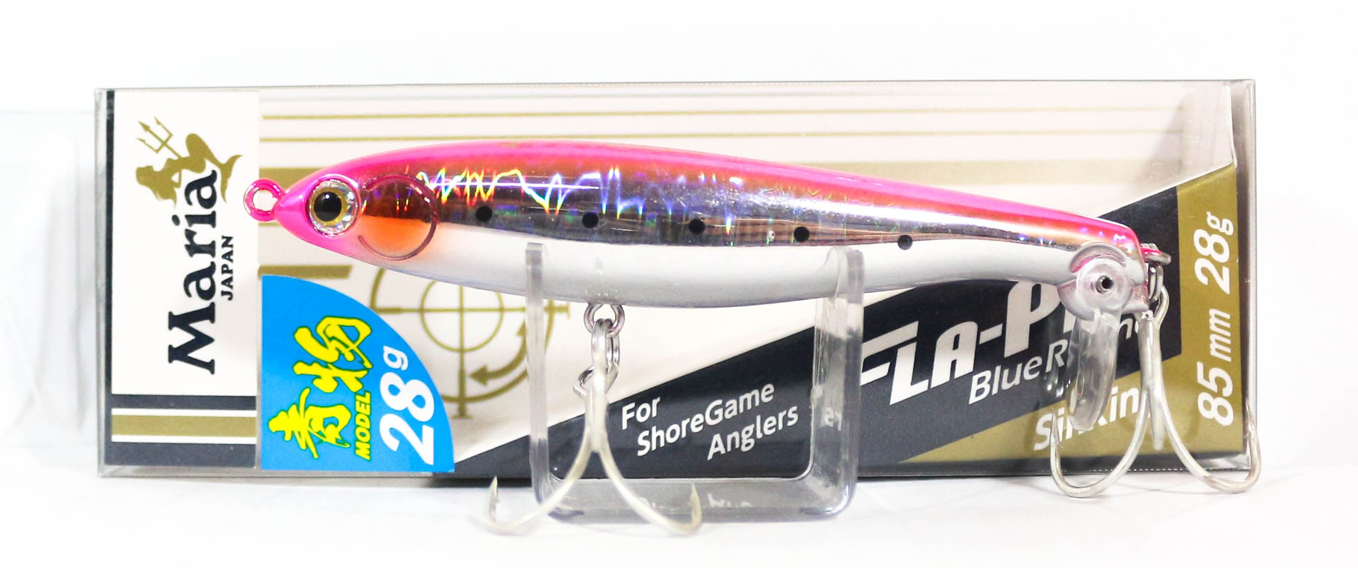 Maria Fla Pen S85 Fluttering Pencil Sinking Lure B08H (9794)