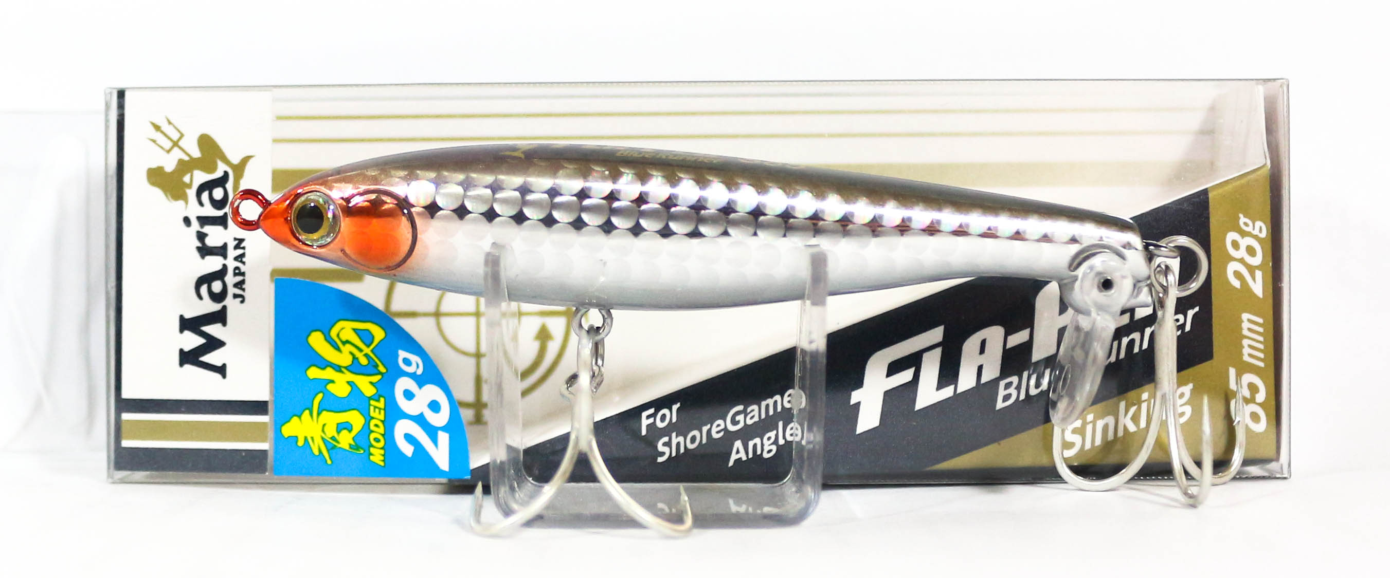 Maria Fla Pen S85 Fluttering Pencil Sinking Lure B1OH (9817)