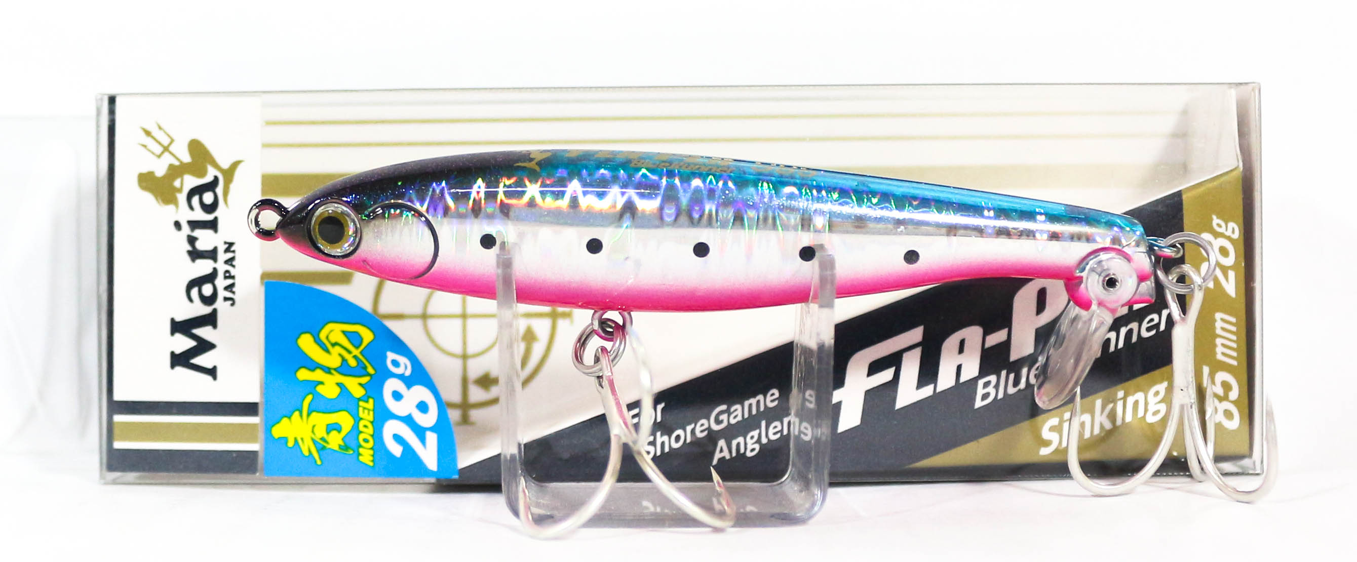 Maria Fla Pen S85 Fluttering Pencil Sinking Lure B13H (9824)