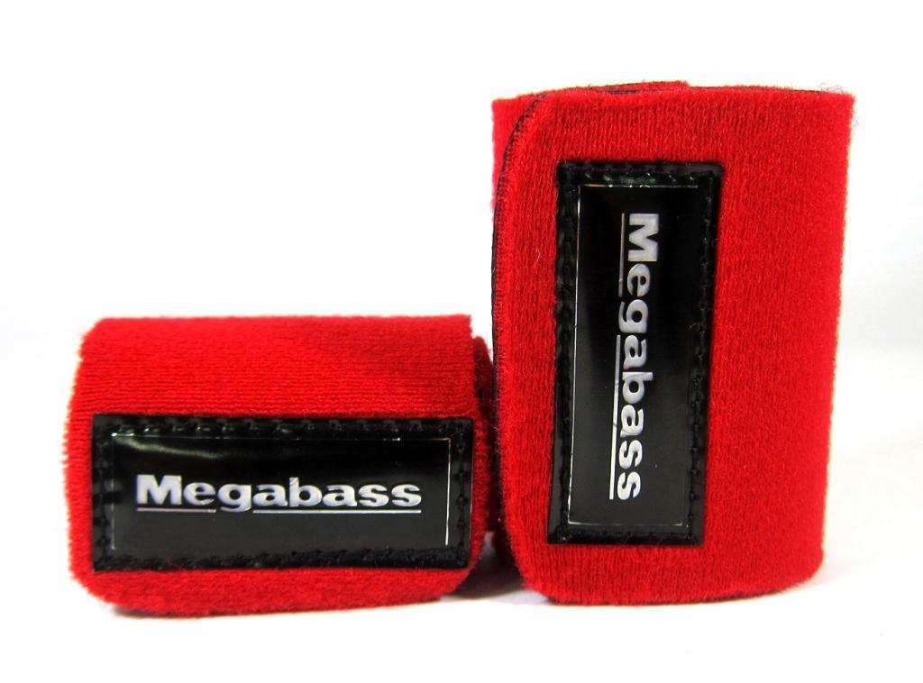 Megabass Rod Belt Straps Red (6309)