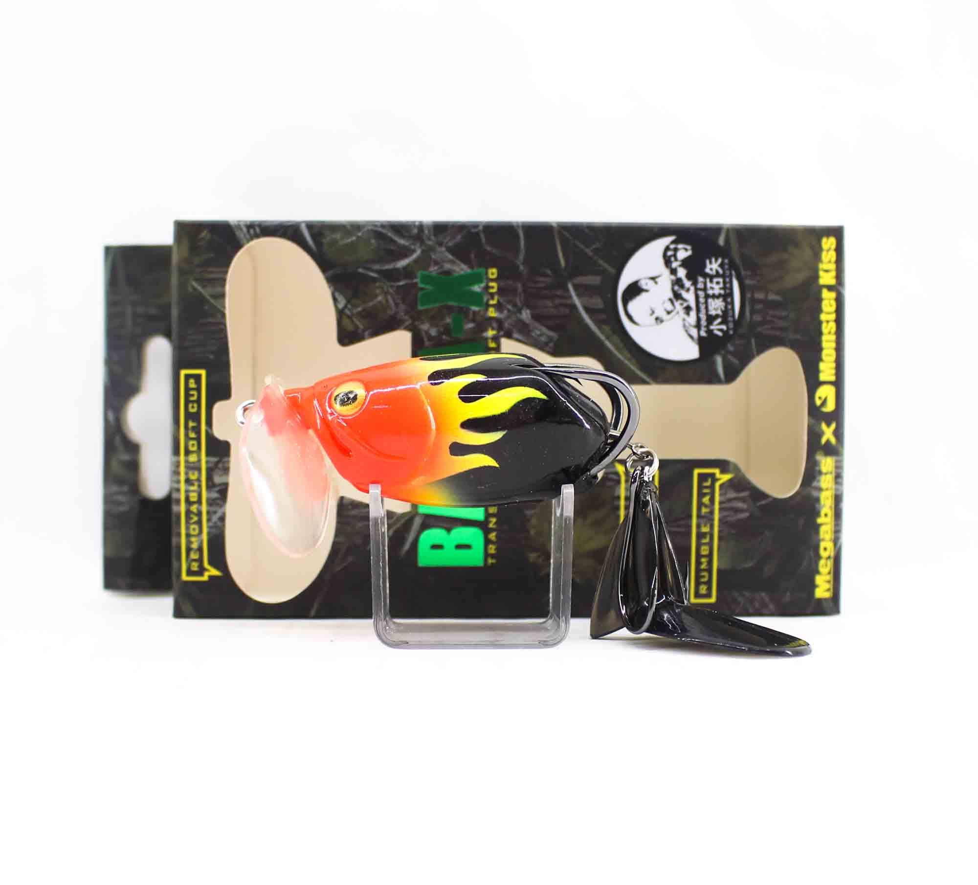 Megabass Batra-X Floating Lure Hot Rod Fire (6813)