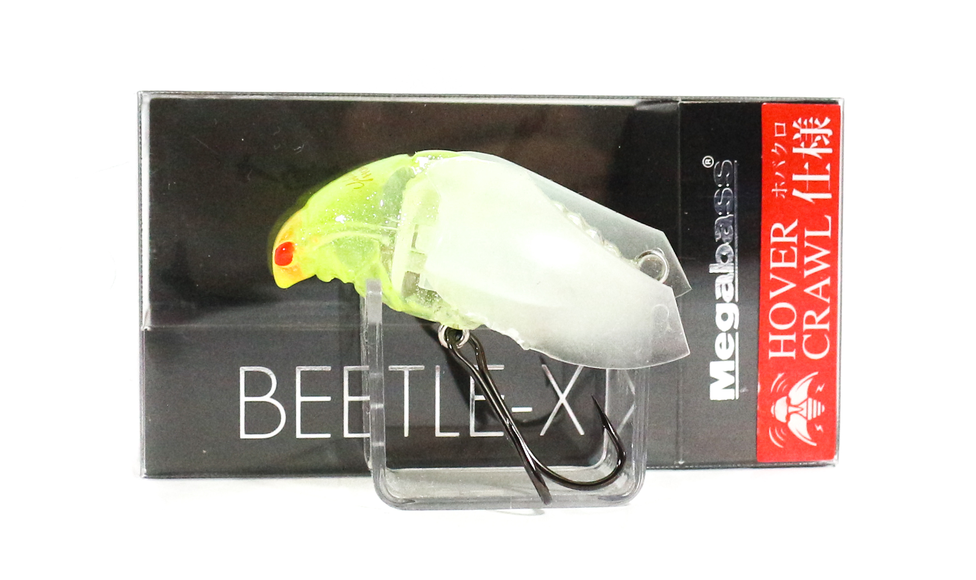 Megabass Beetle X Hover Crawl Floating Lure GLX Chart Silphy Head (7398)