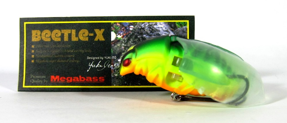 Megabass Beetle X Floating Lure Mat Tiger (7792)