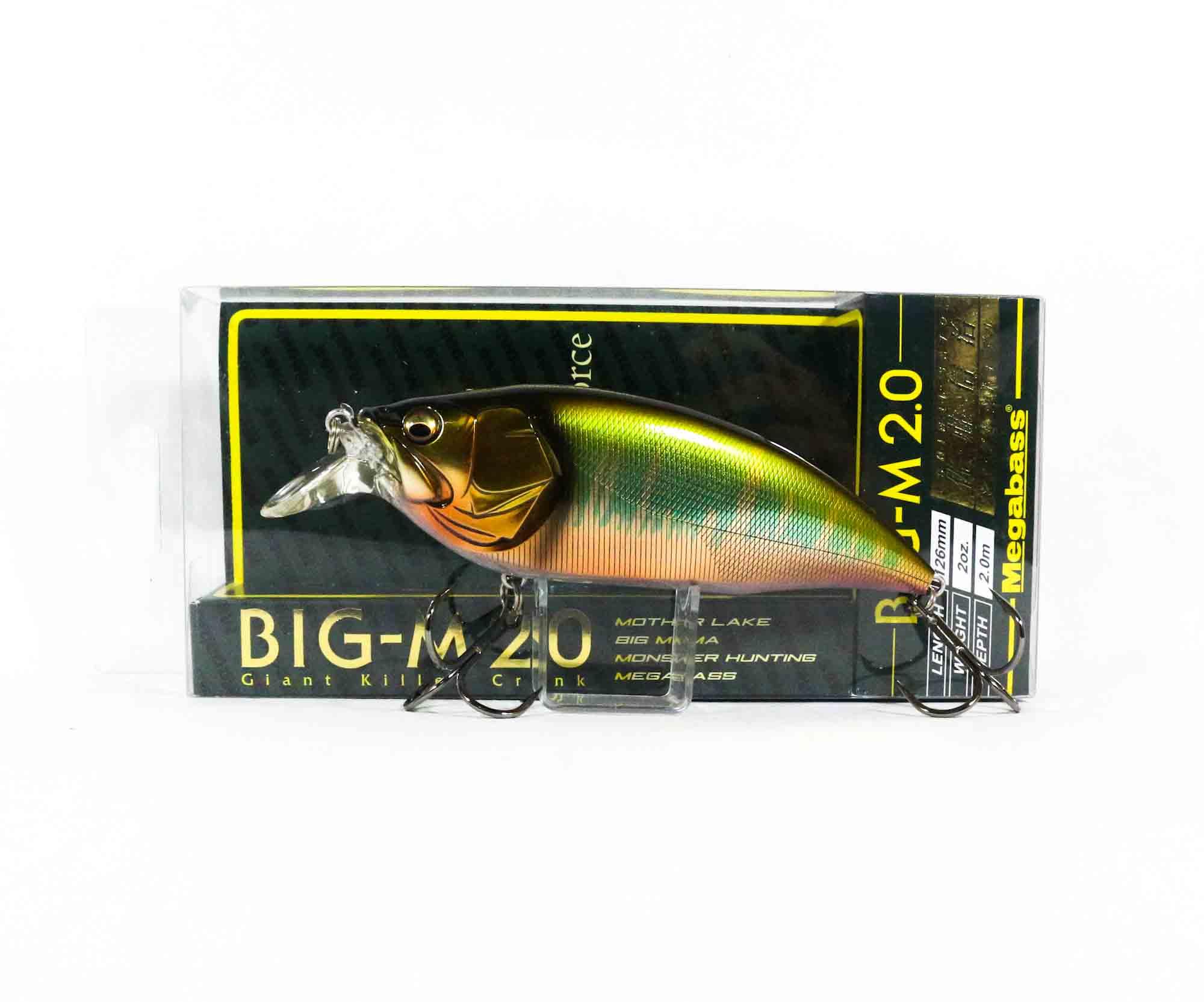 Megabass Big M 2.0 Giant Crank 126 mm Floating Lure Wagin OIkawa (6128)