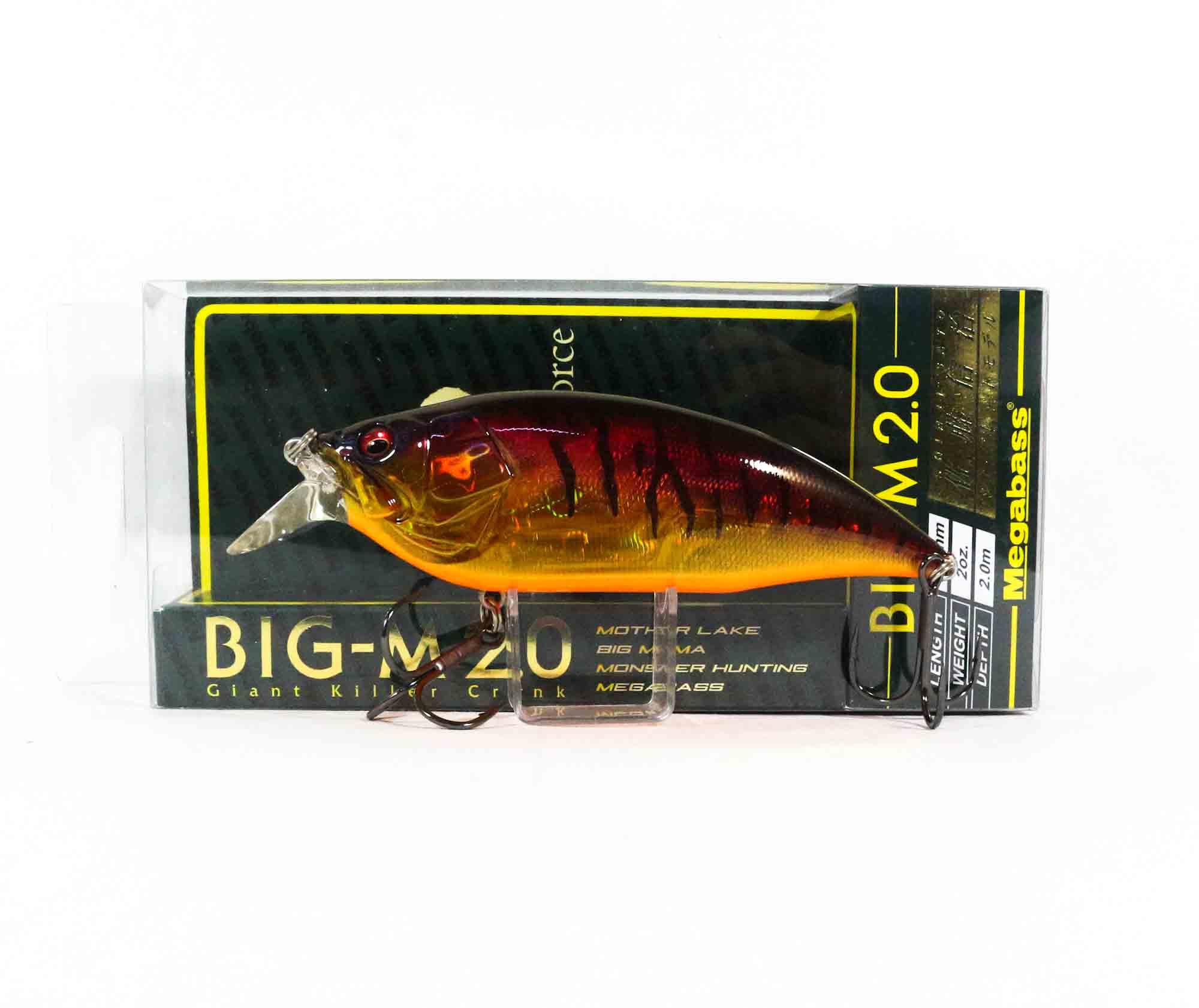 Megabass Big M 2.0 Giant Crank 126 mm Floating Lure GP Spawn Killer (6173)