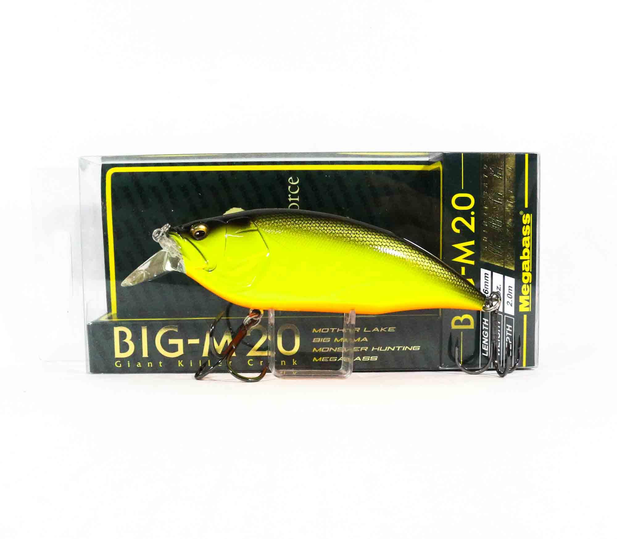Megabass Big M 2.0 Giant Crank 126 mm Floating Lure BBC (6210)