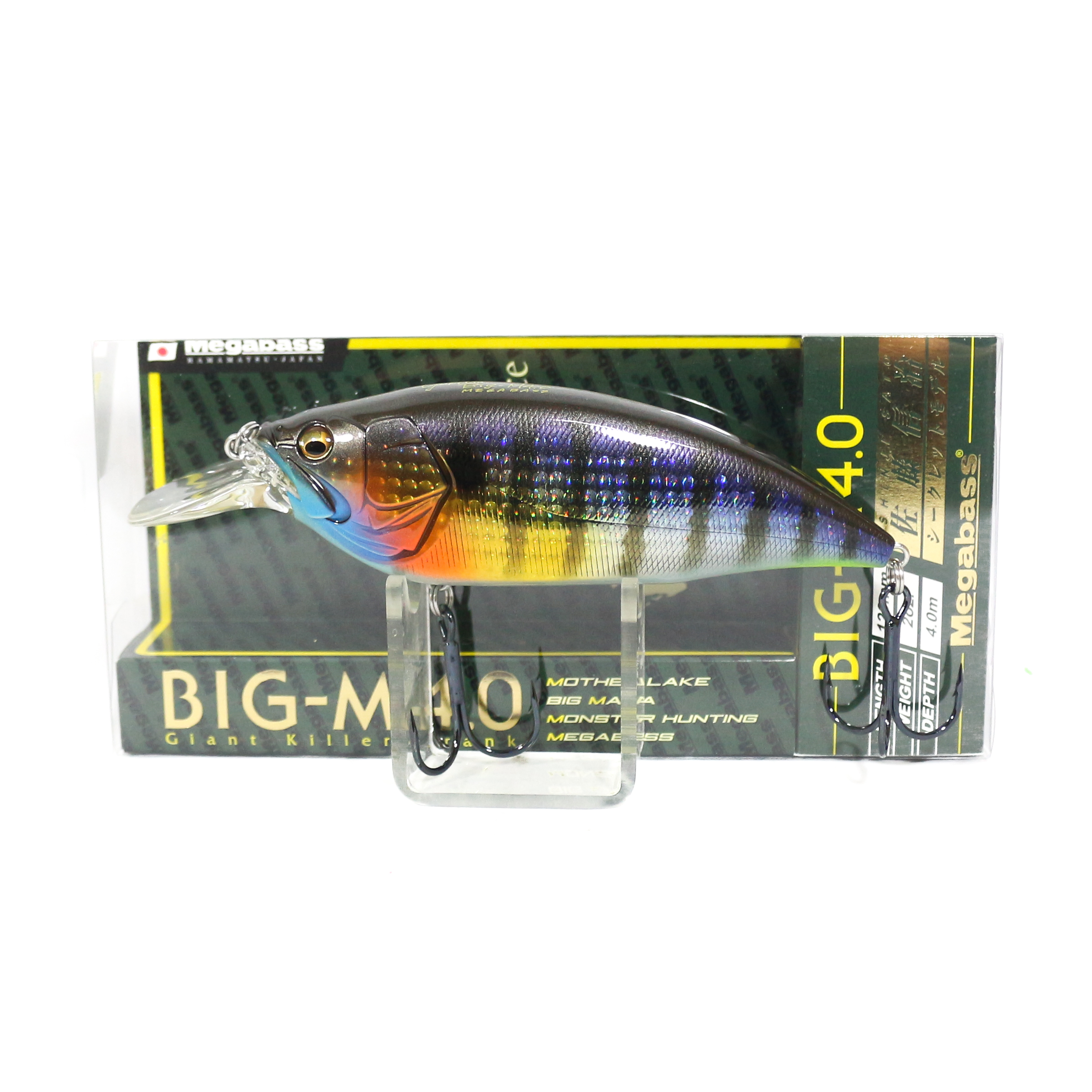 Megabass Big M 4.0 Giant Crank 126 mm Floating Lure GG Wild Gill BM (3181)