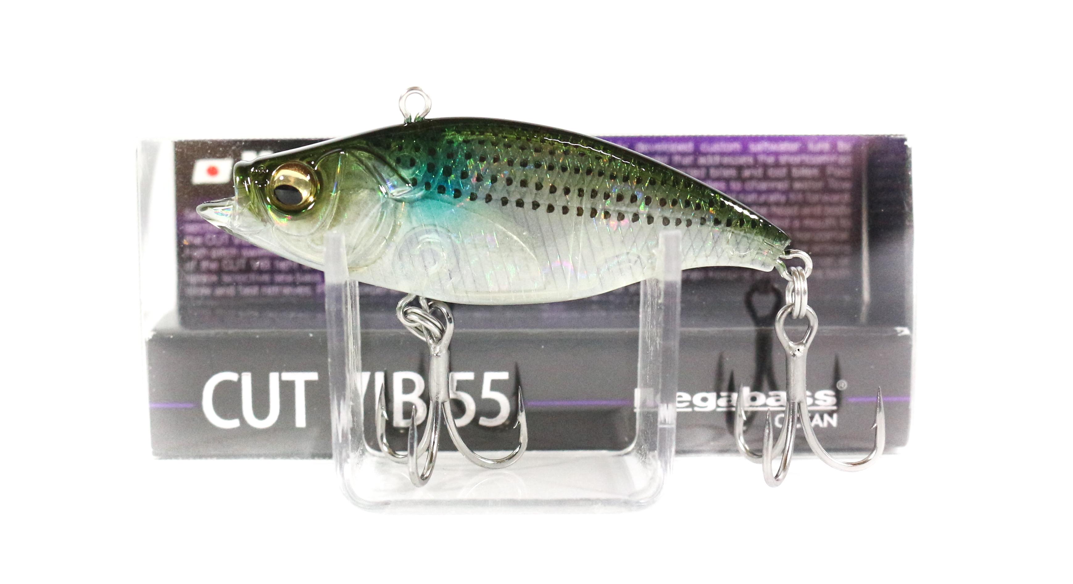 Megabass Cut Vib 55 Vibration Lure GP Haku Bora (7303)
