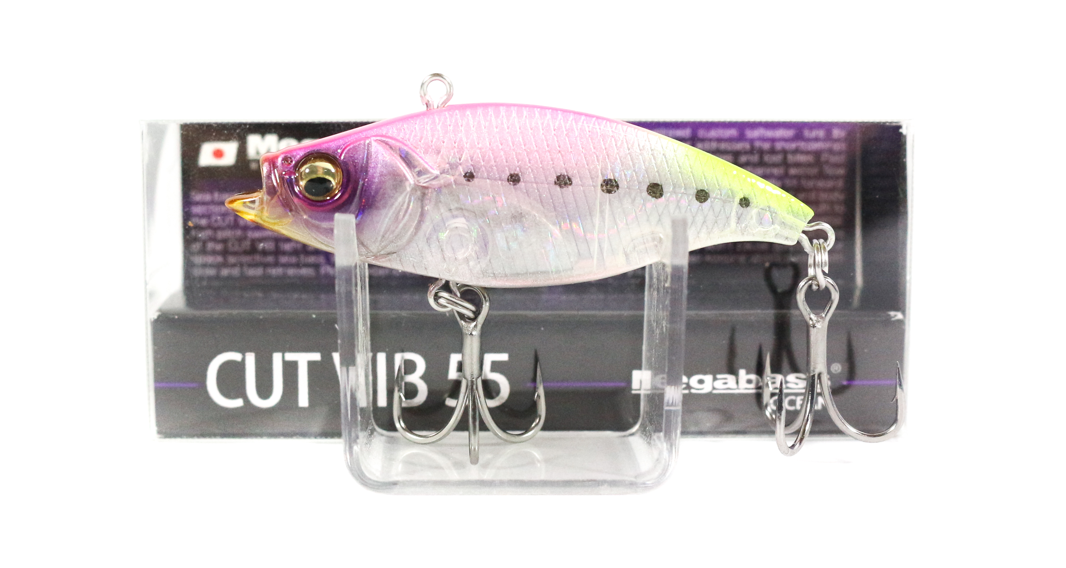 Megabass Cut Vib 55 Vibration Lure GG Tropical Iwashi (7358)