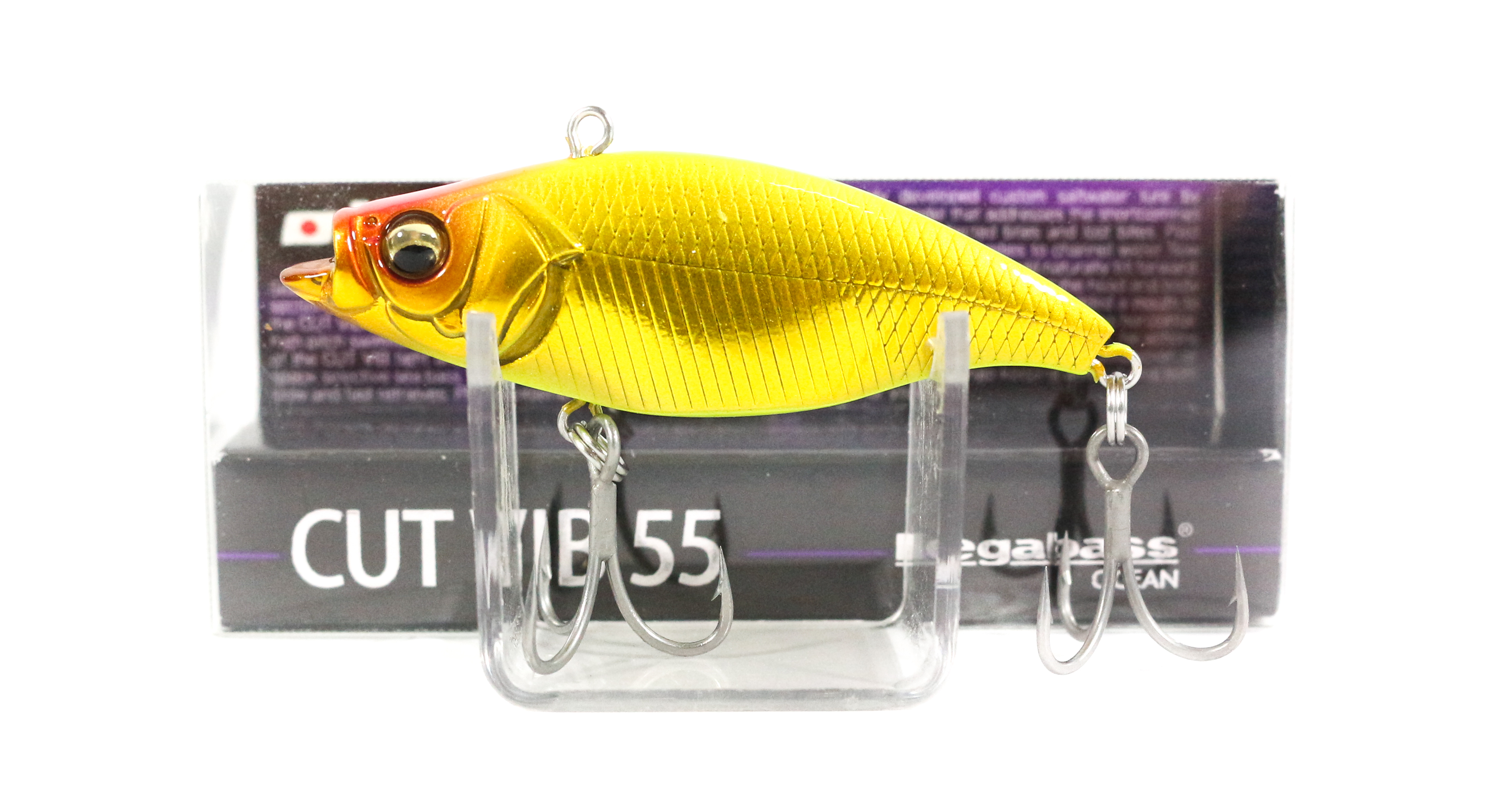 Megabass Cut Vib 55 Vibration Lure M Chart Back Gold (7365)