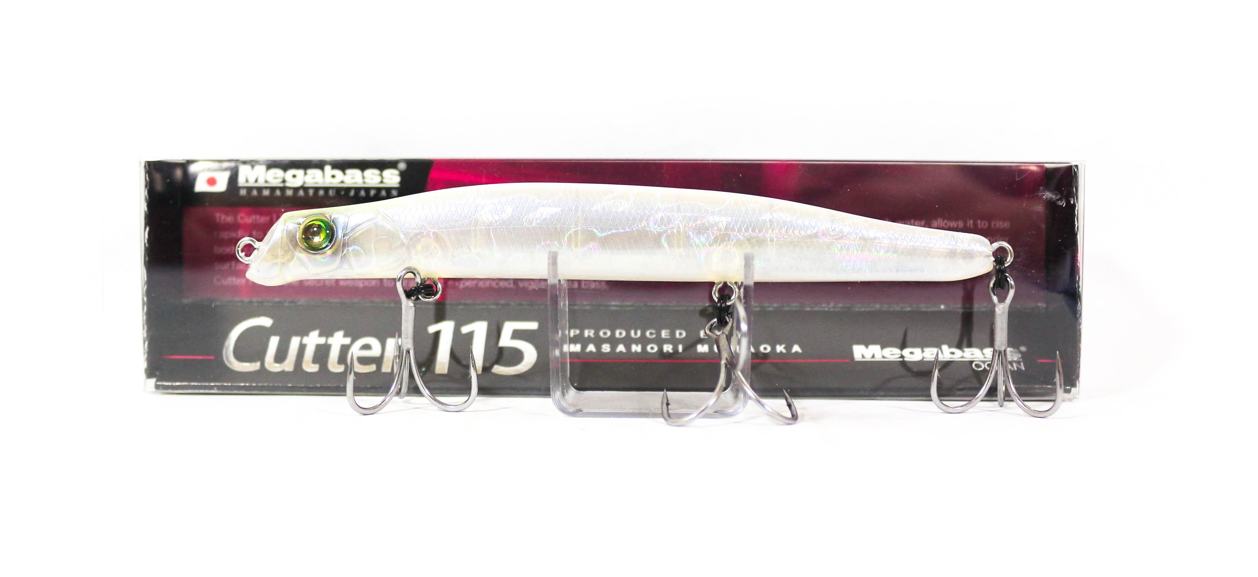 Megabass Cutter 115 SW Sinking Lure Shell Skin Lemon (9251)