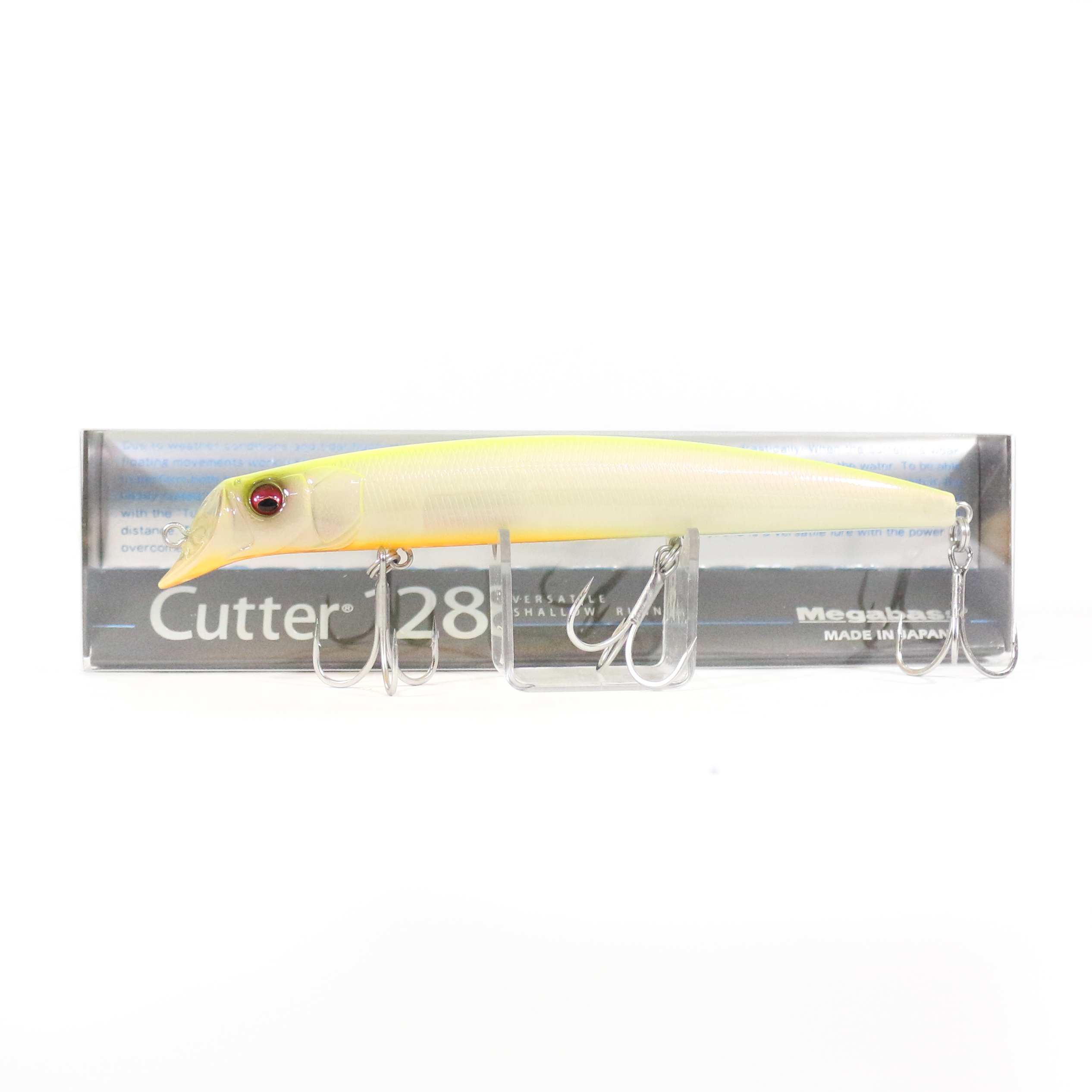 Megabass Cutter 128 SW Floating Lure GLX Chart Back (6515)