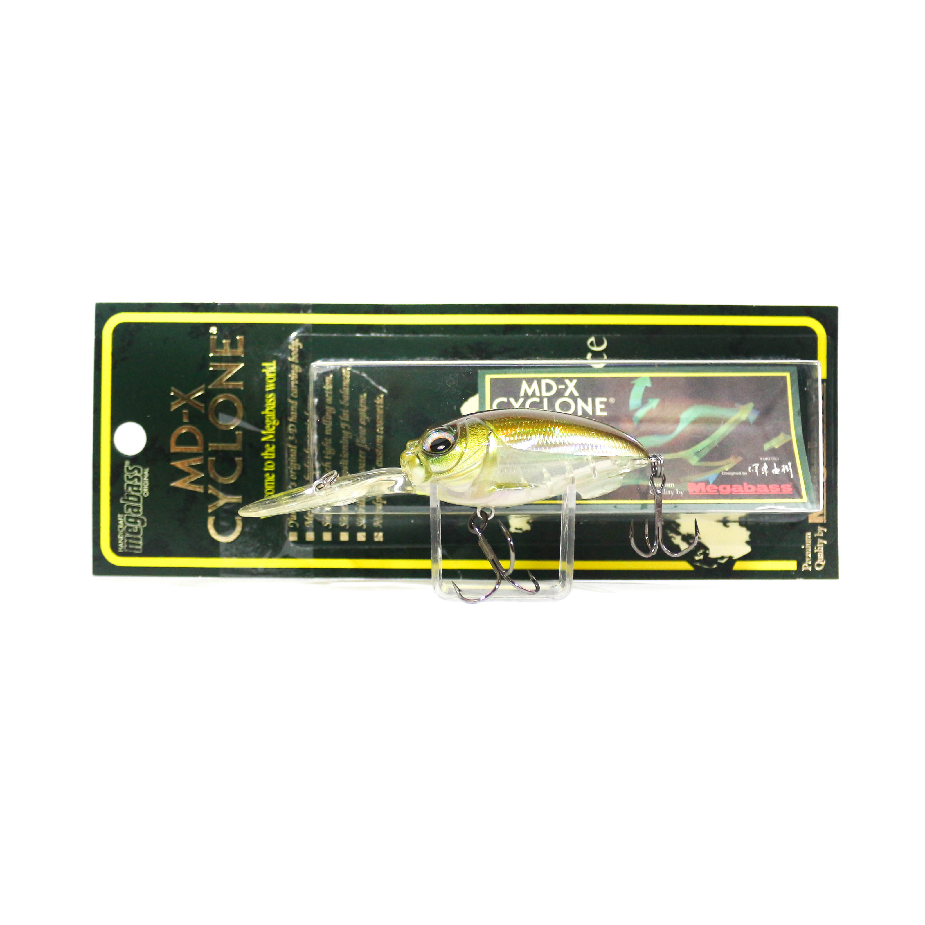 Megabass Cyclone MDX Floating Crank Bait Lure HT IL Tennessee Shad (5382)