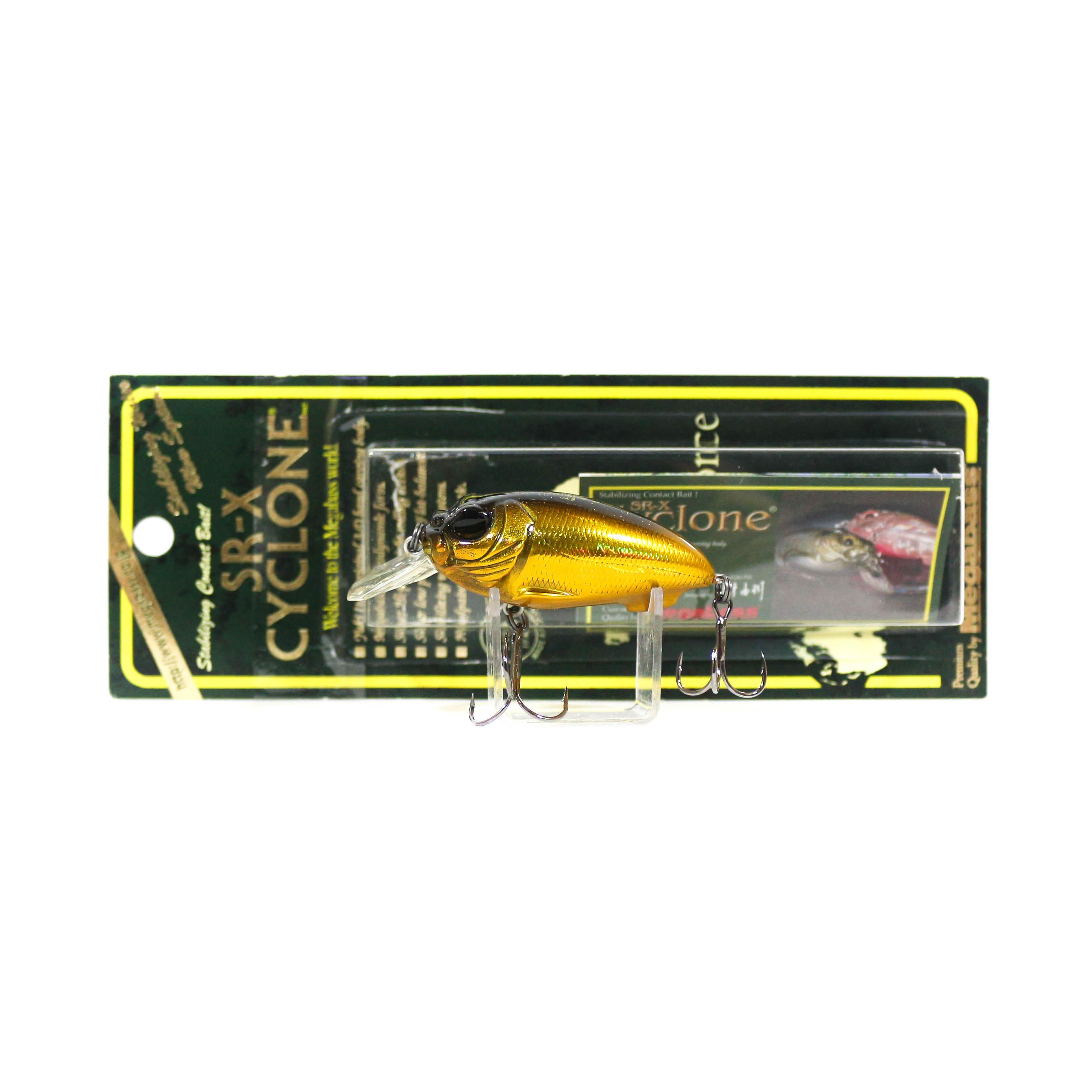 Megabass Cyclone SRX Floating Crank Bait Lure GG Alien Gold (3975)
