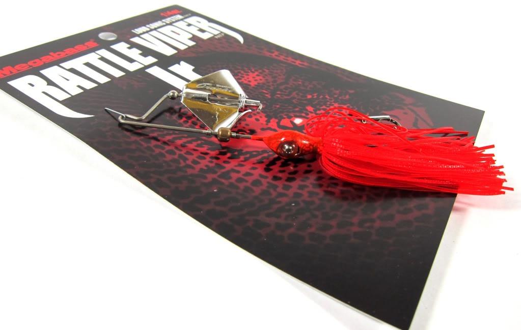 Megabass Buzz Bait Orochi Rattle Viper Jr 1/4 oz Aka Mamushi (5960)
